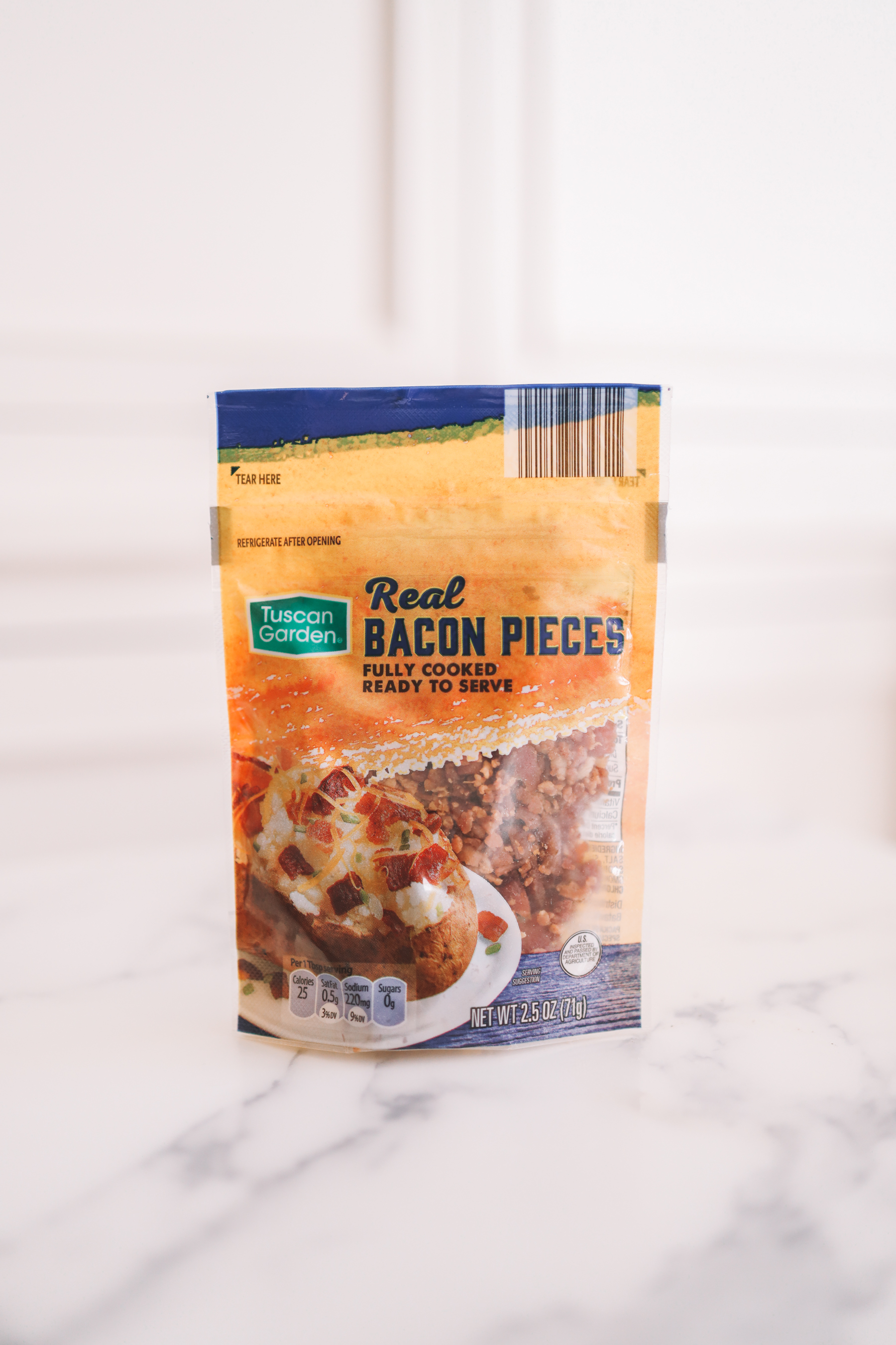 Aldi products - 5. Tuscan Garden Real Bacon Pieces