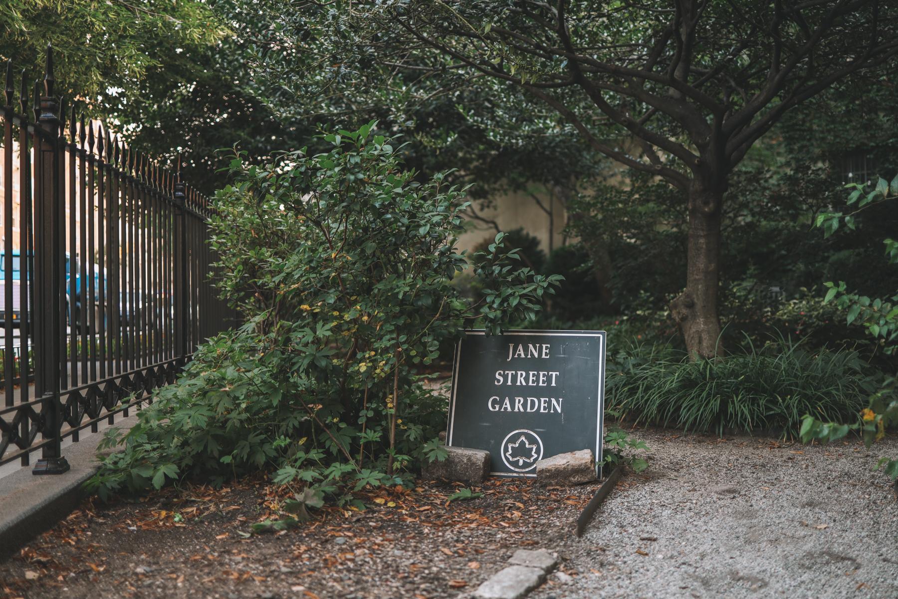 Jane Street Garden