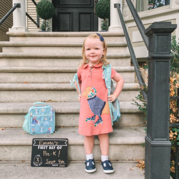 Emma's First Day of Pre-School
