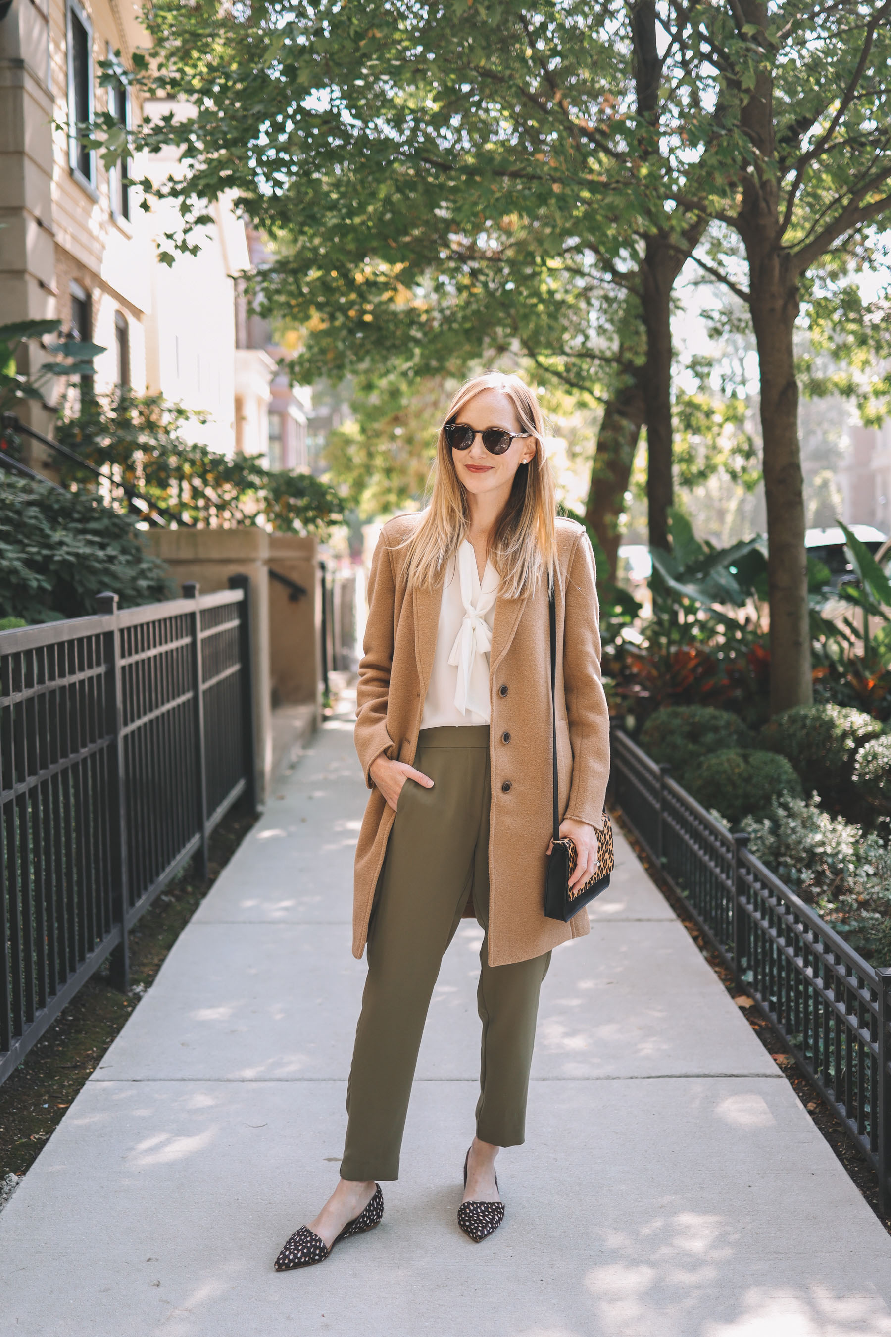 wear to work - j.crew factory outfit | kelly in the city