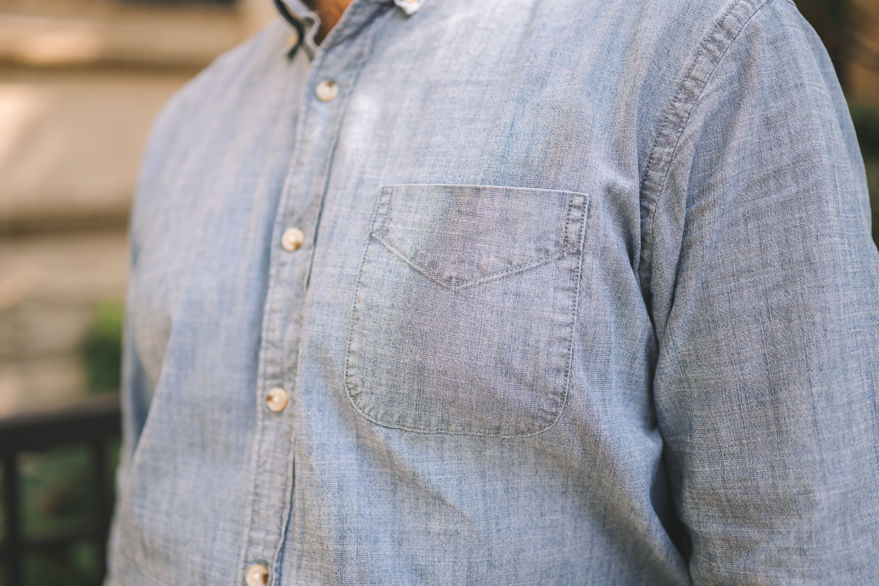 button down men's shirt