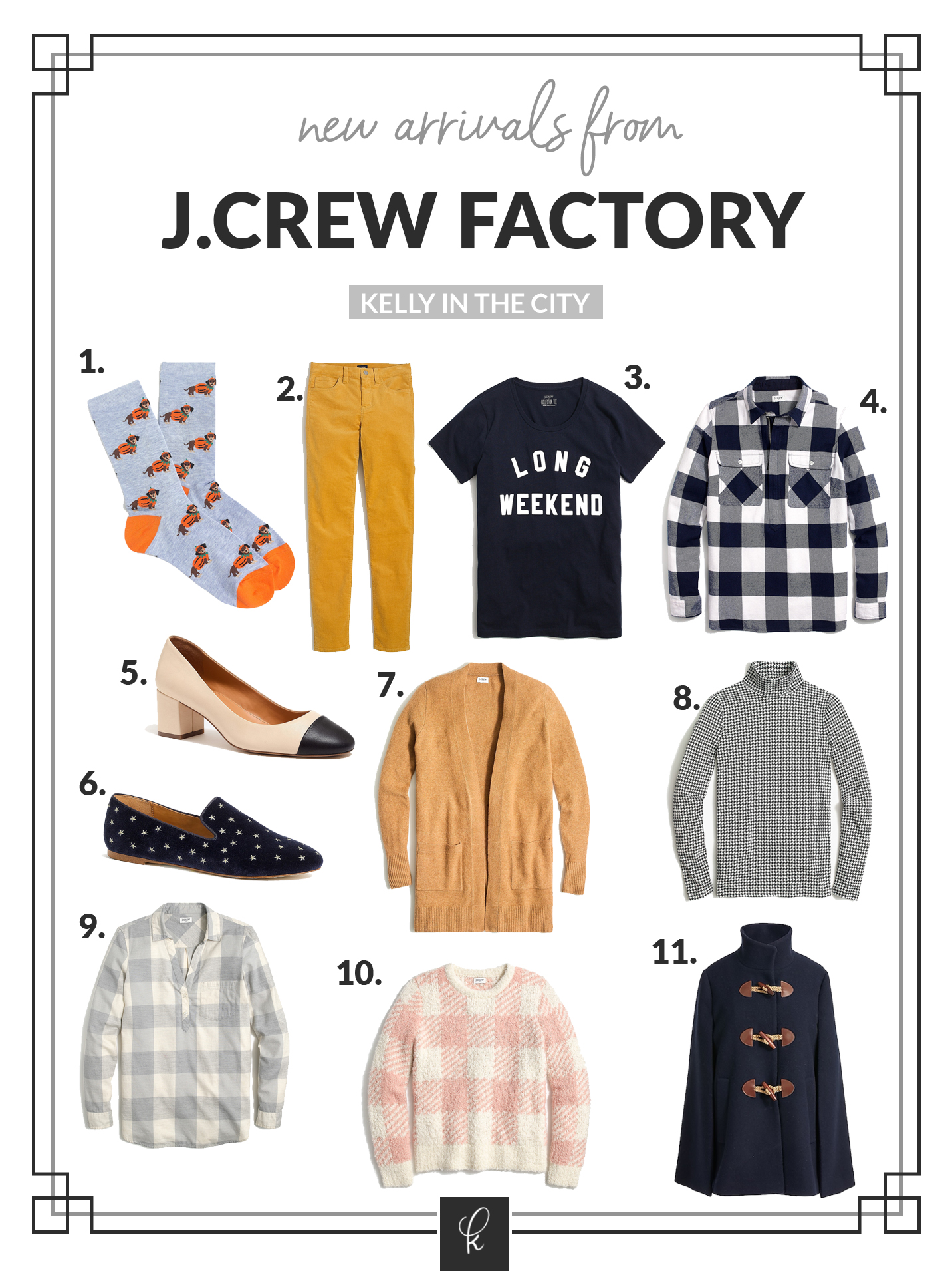J.Crew Factory new arrivals
