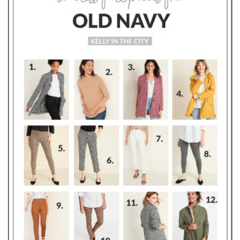 Timeless Fall Pieces from Old Navy