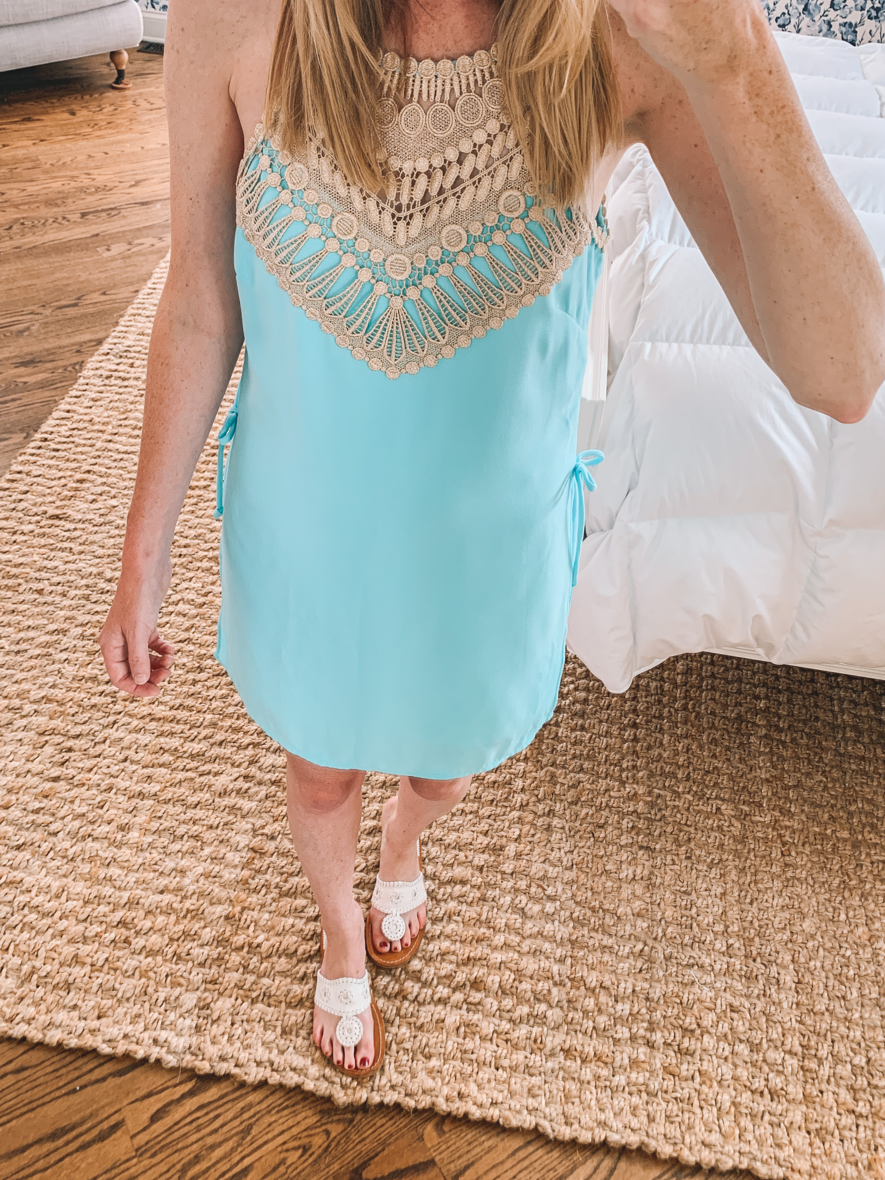 After Party Sale - Pearl Romper