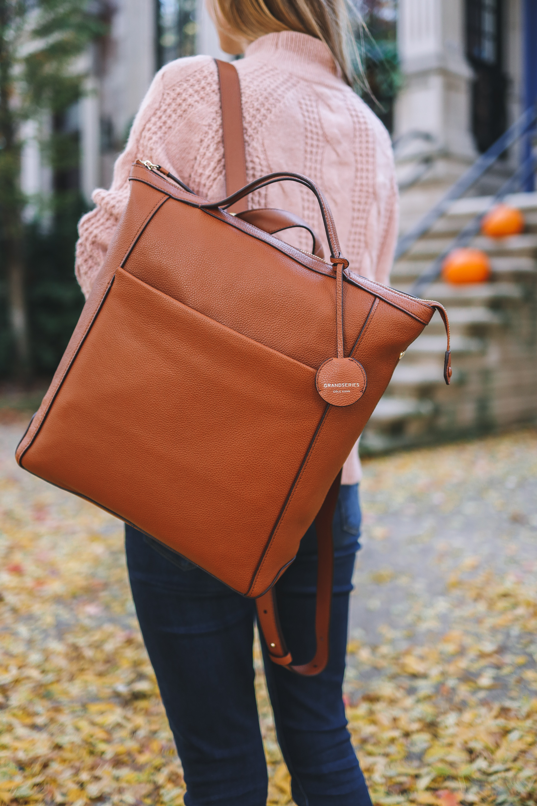 Grand Ambition Leather Backpack
