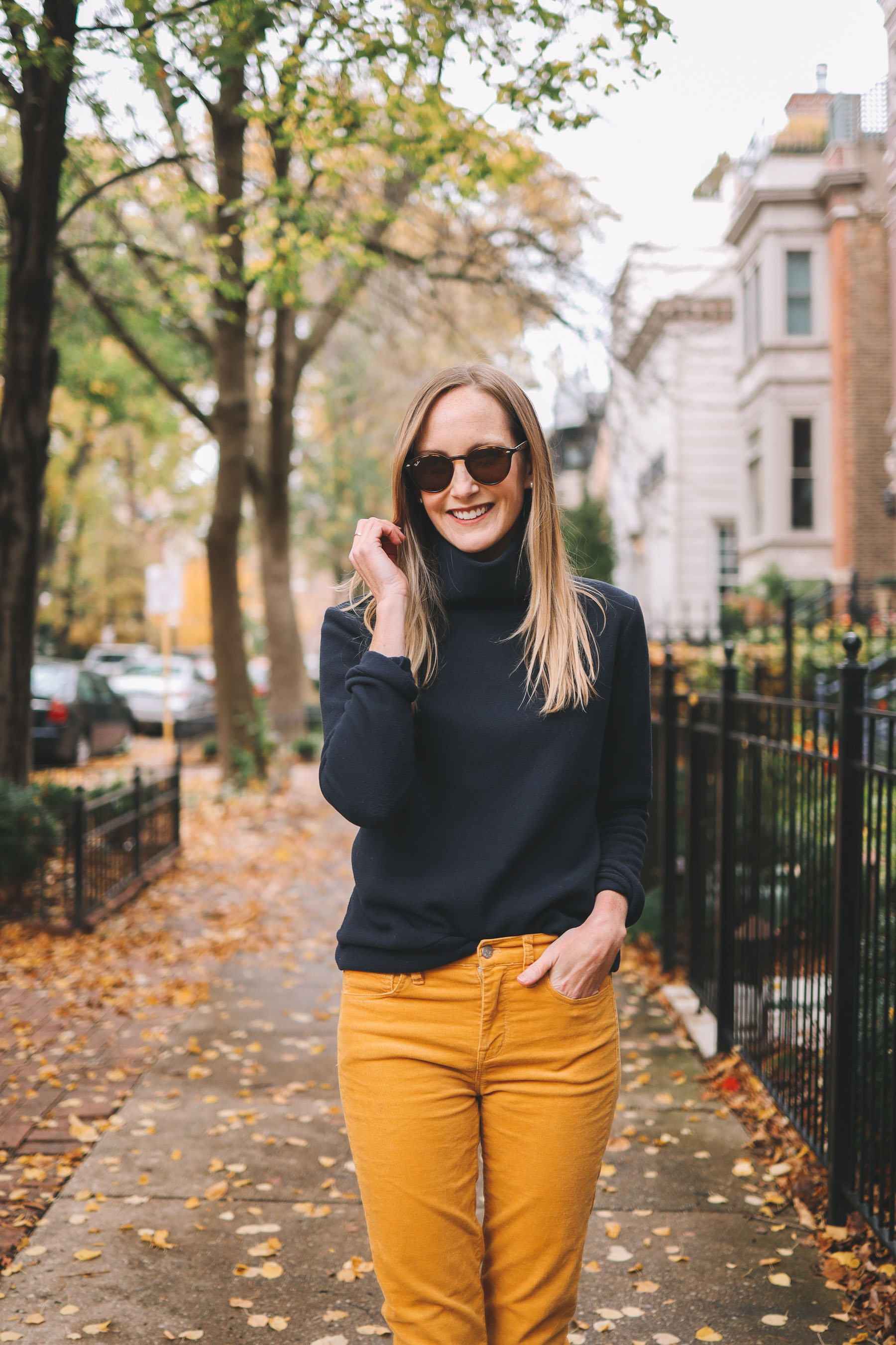 Park Slope Fleece Turtleneck