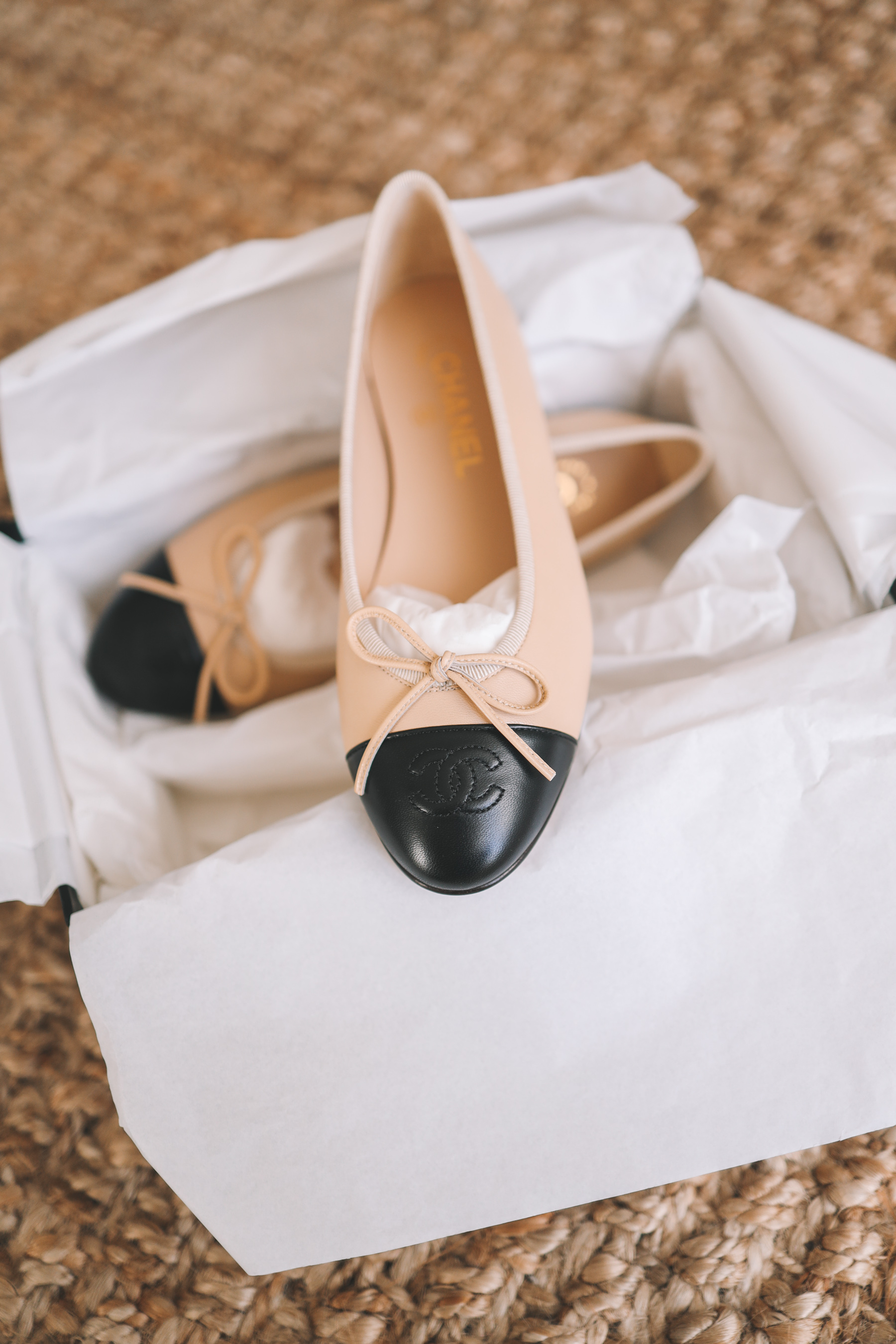 Chanel Cap Toe Ballerina Flats Review Ebay S Authenticate Program