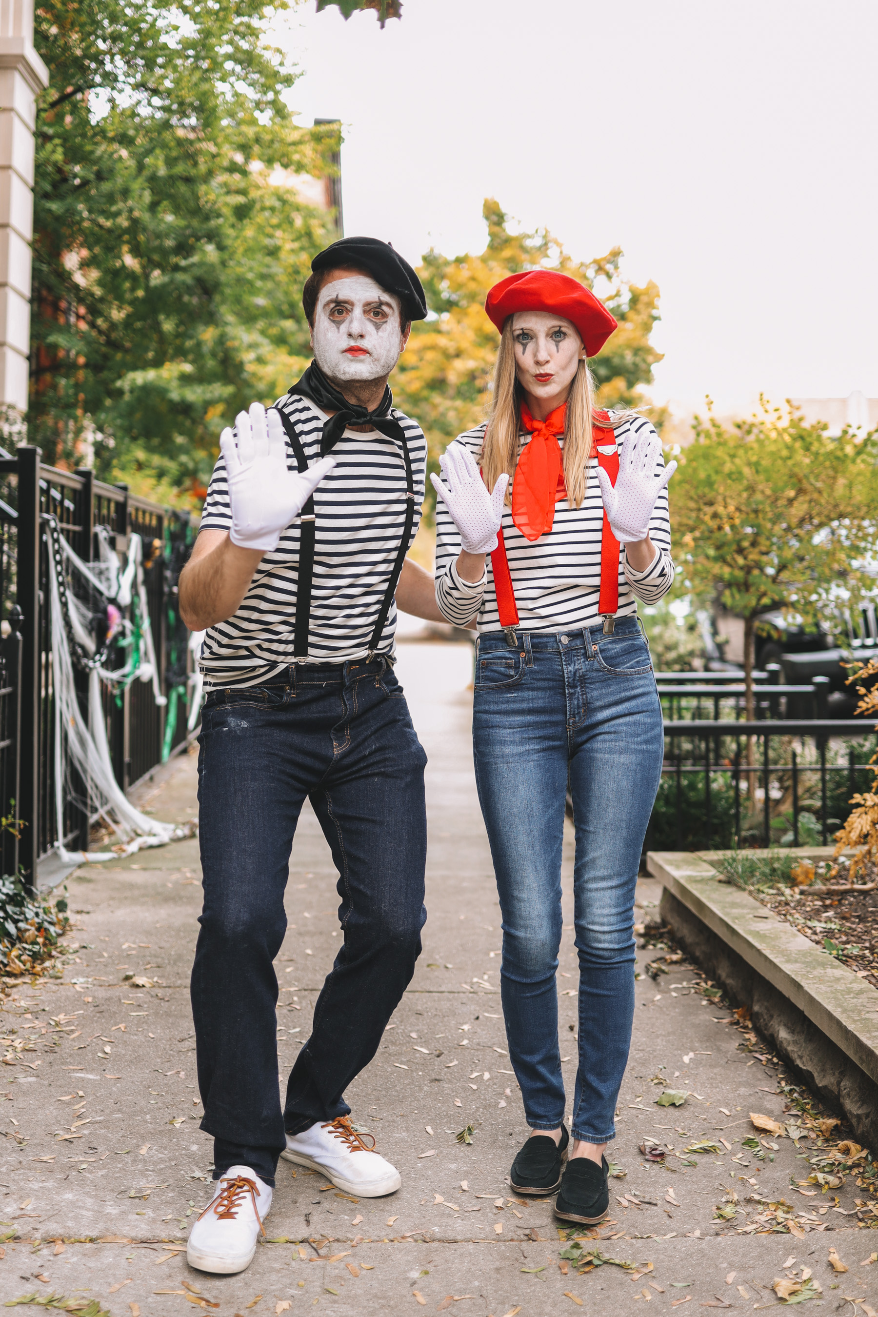 mime Halloween Costumes