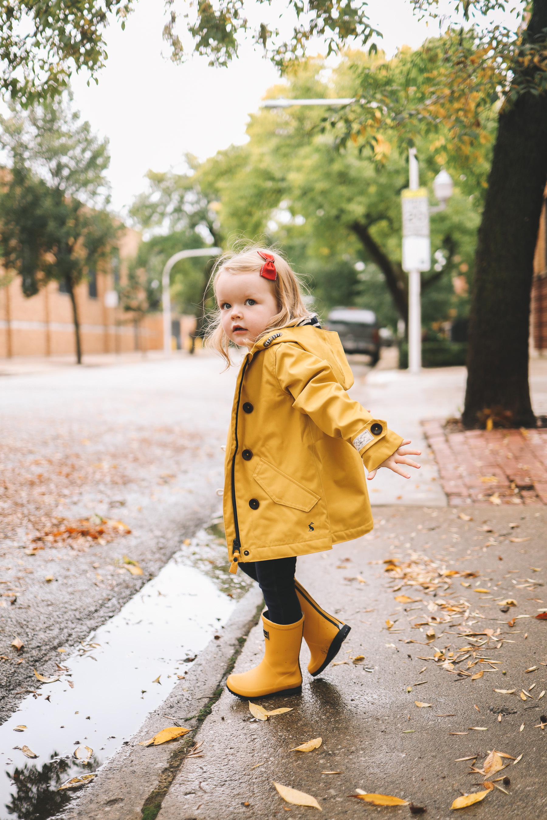 Joules rain gear for kids