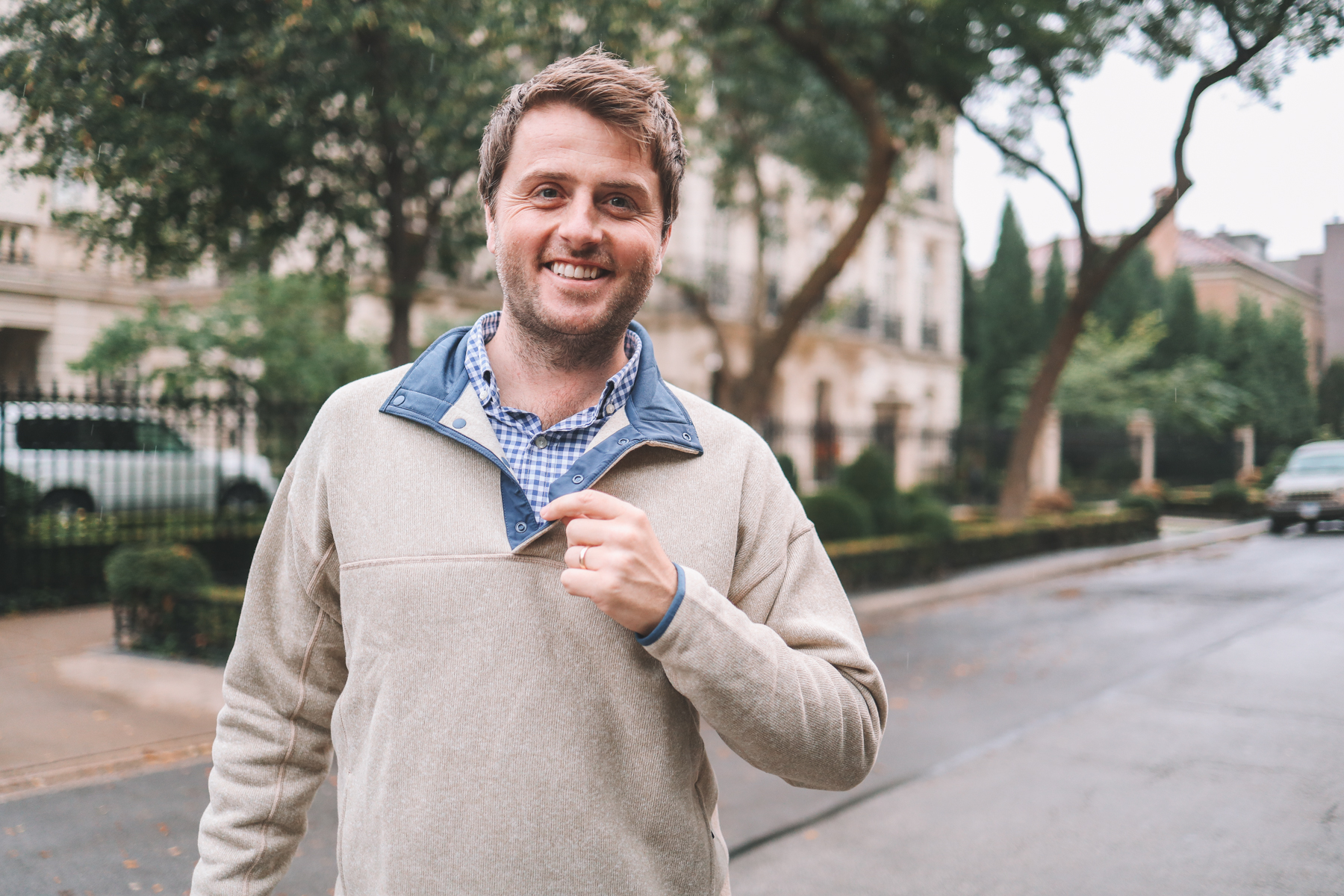 fall style for men with mitch larkin