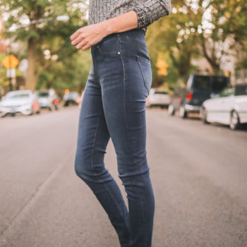Featured Product: Figure-Flattering Pull-On Skinny Jeans