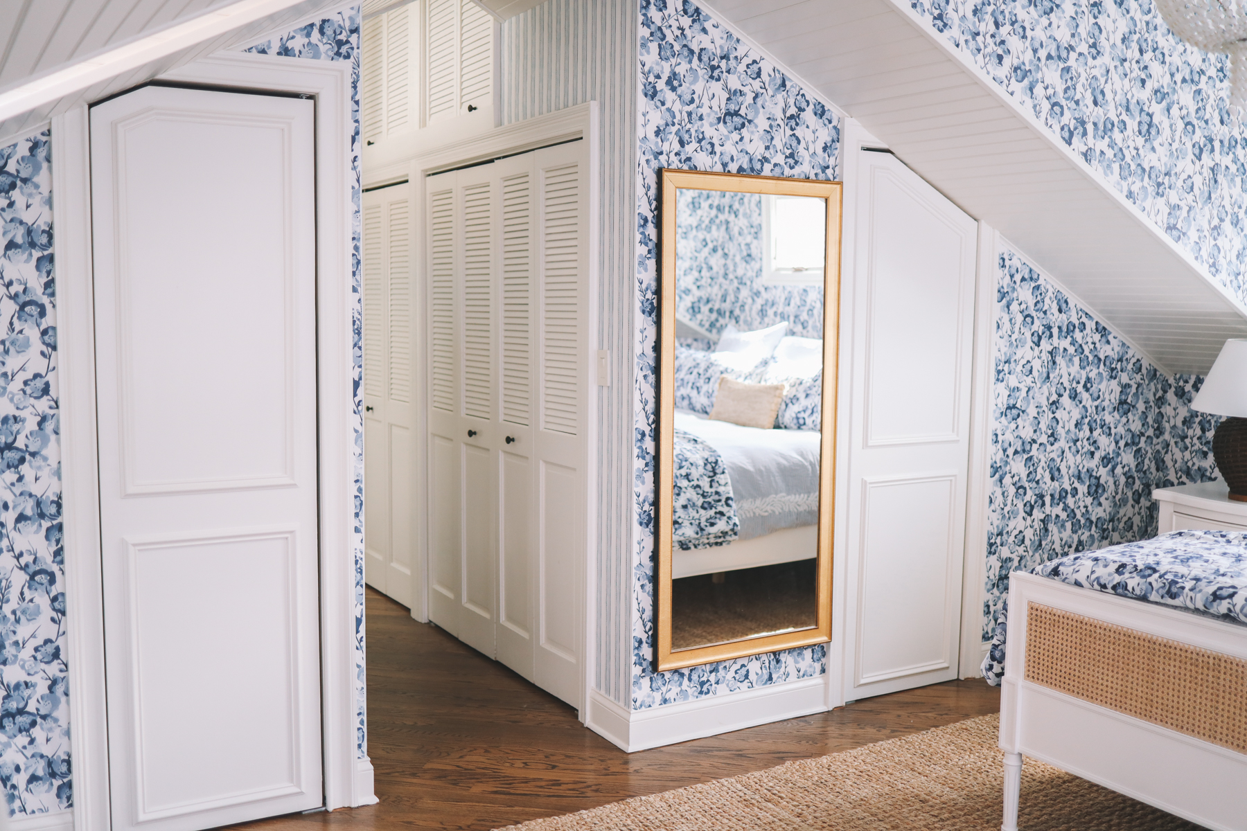 mirror master bedroom reveal