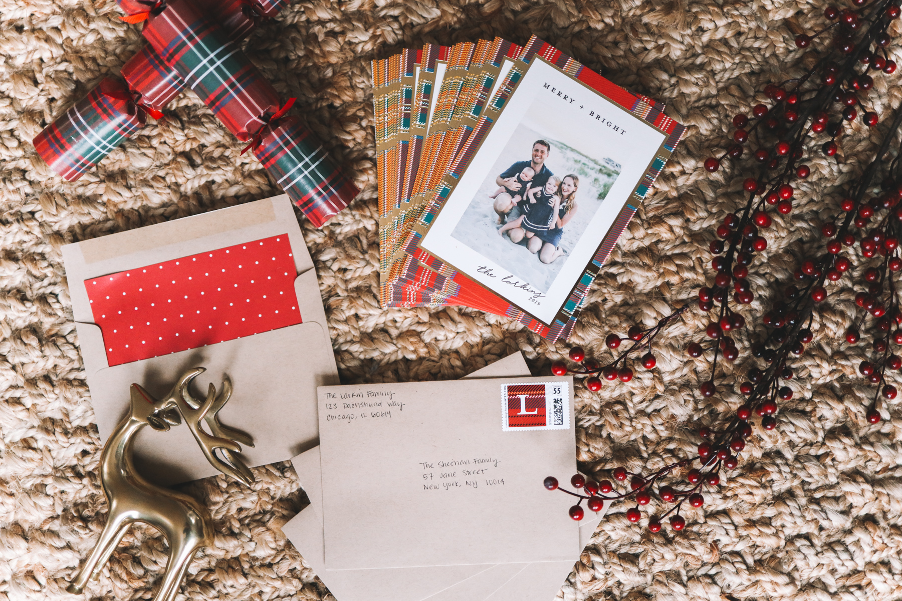 Our 2019 Holiday Cards with Minted