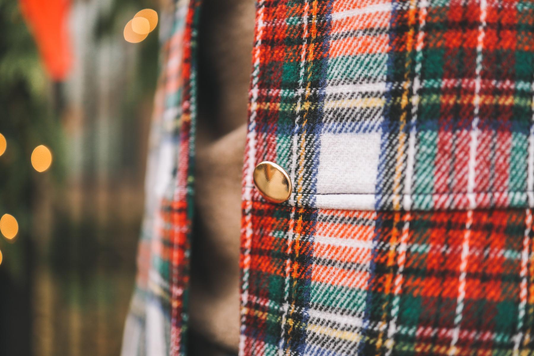 Crewcuts Stewart Tartan Coat