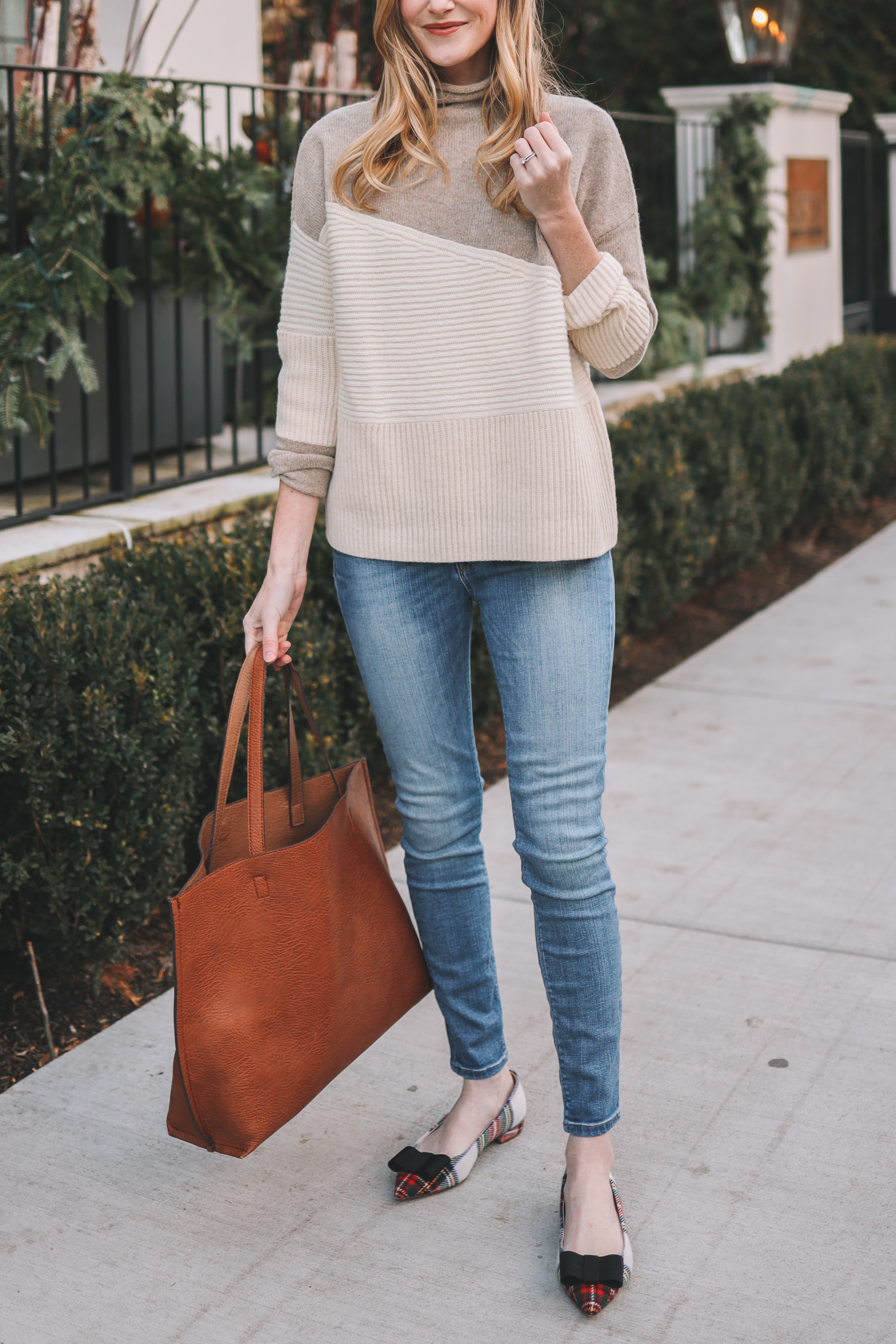 Faux Leather Tote from Nordstrom