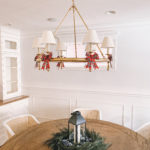 Serena & Lily Chandelier over a Faux Cypress Wreath | Recent Home Purchases