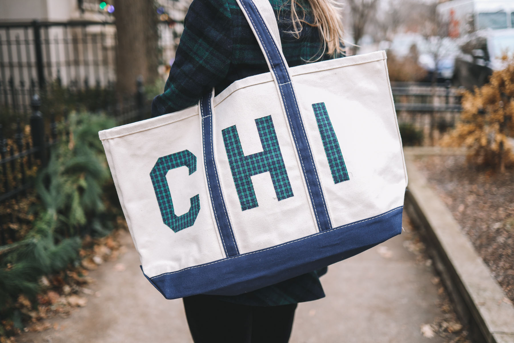 WH Hostess x Crab & Cleek Chicago Tote