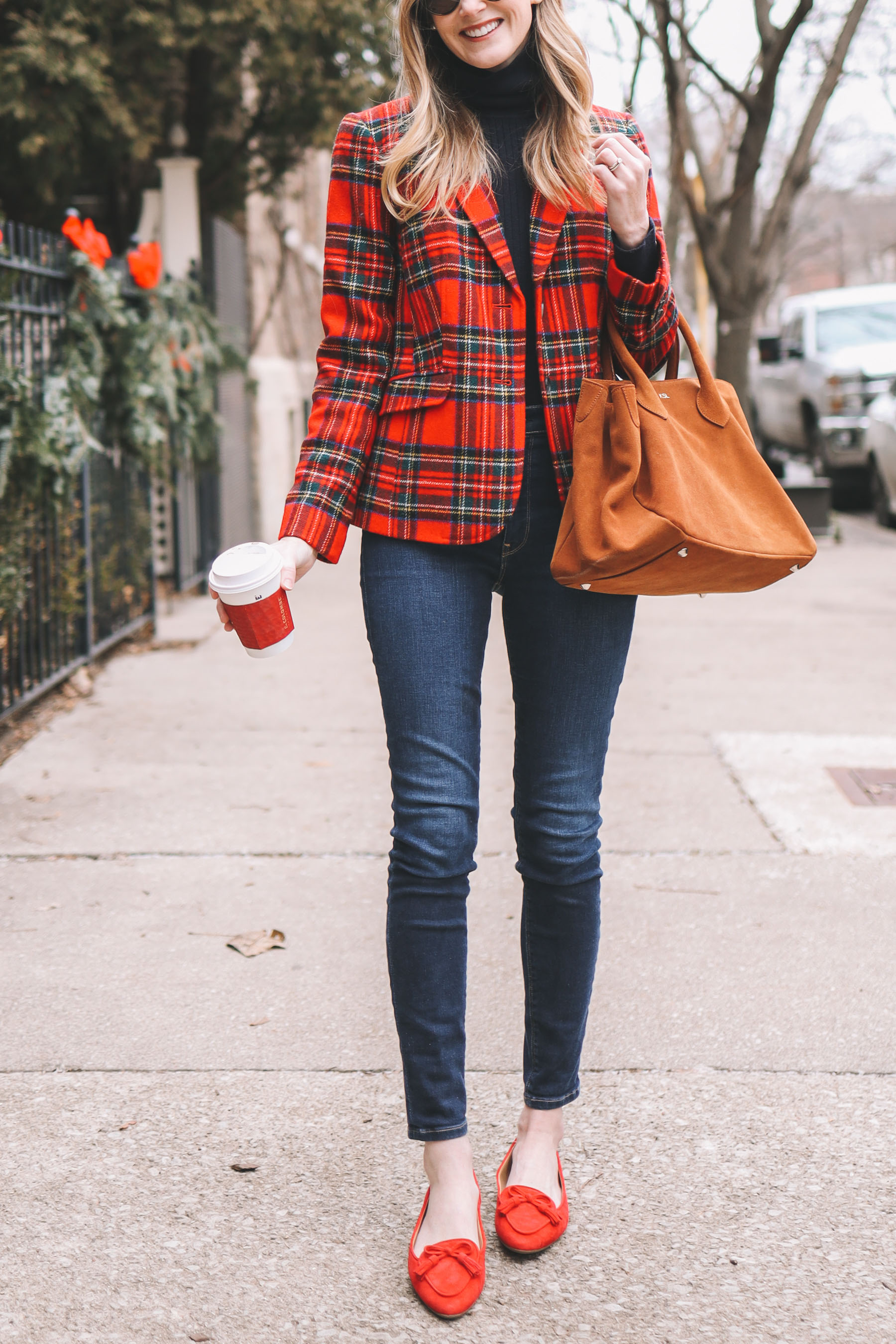 Great Plaid Blazers on Sale