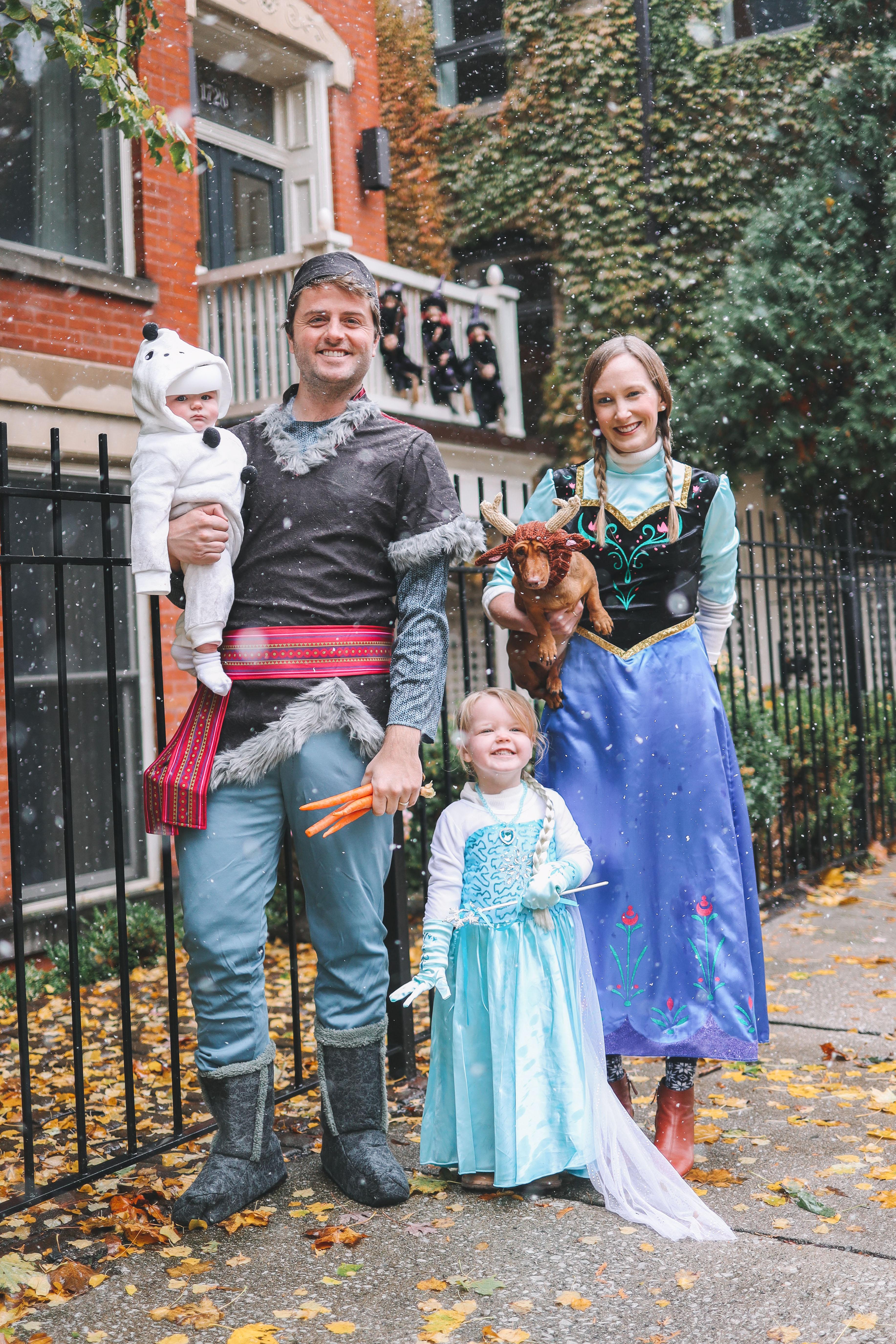 Frozen costumes for halloween