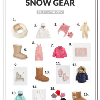 The Girls' Snow Gear