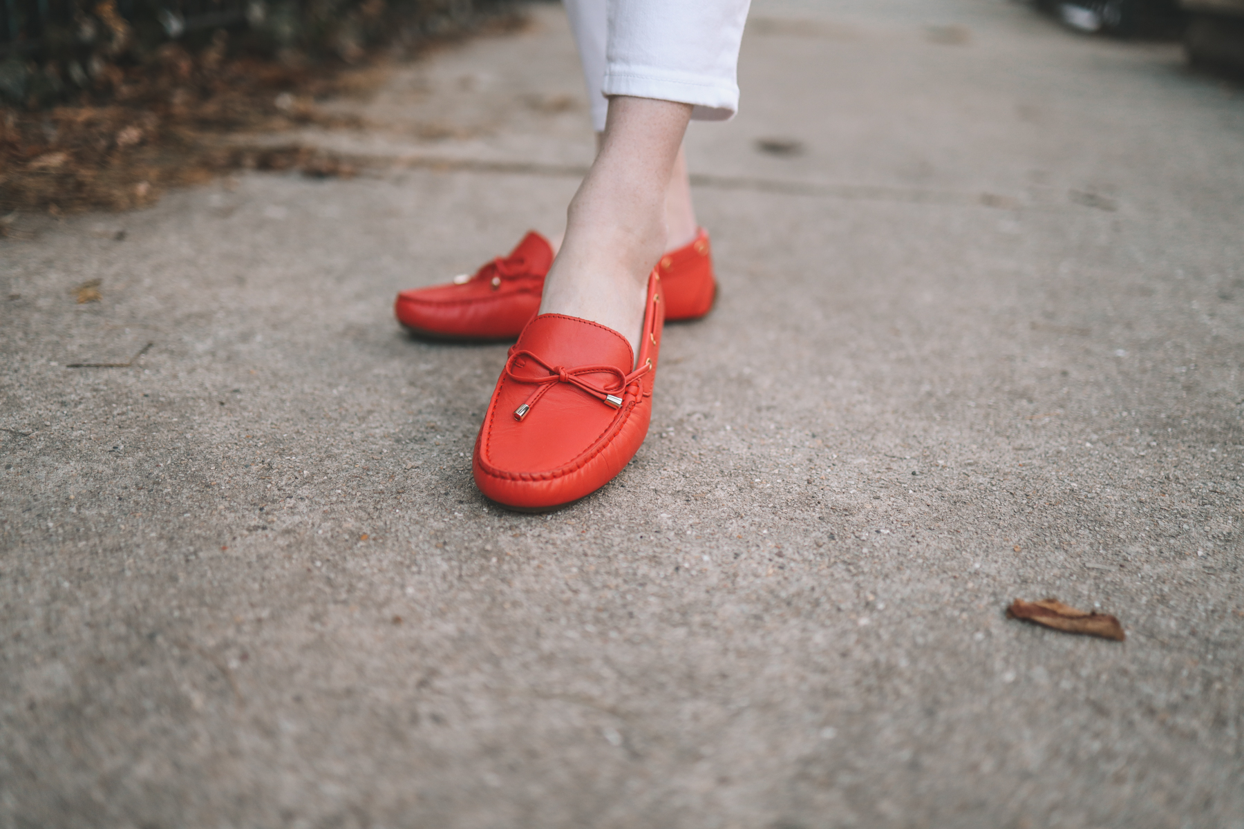 Taylor Laced Red Mocs