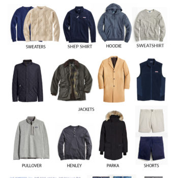 Men's Preppy Capsule Wardrobe