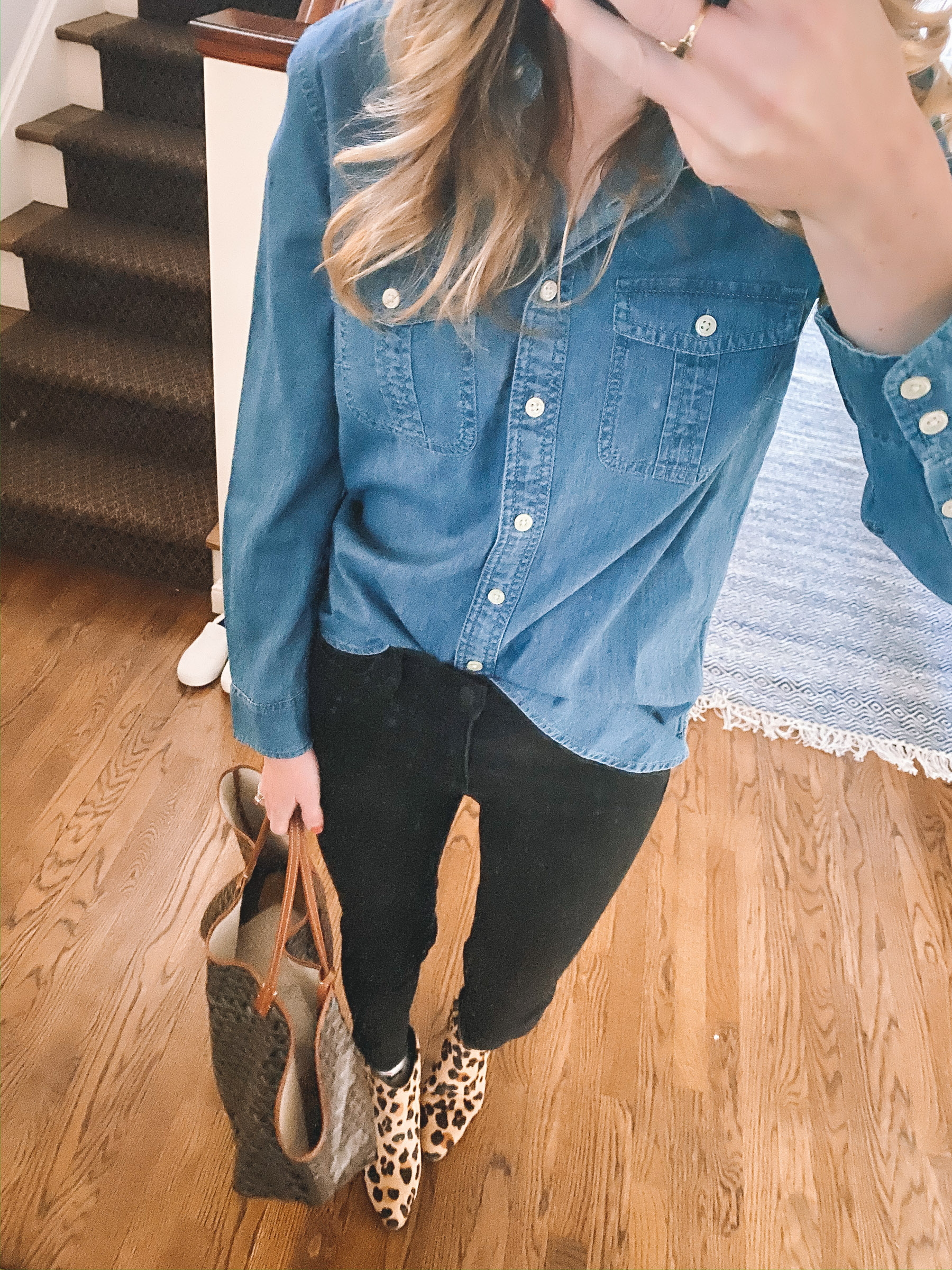 Talbots Chambray Shirt