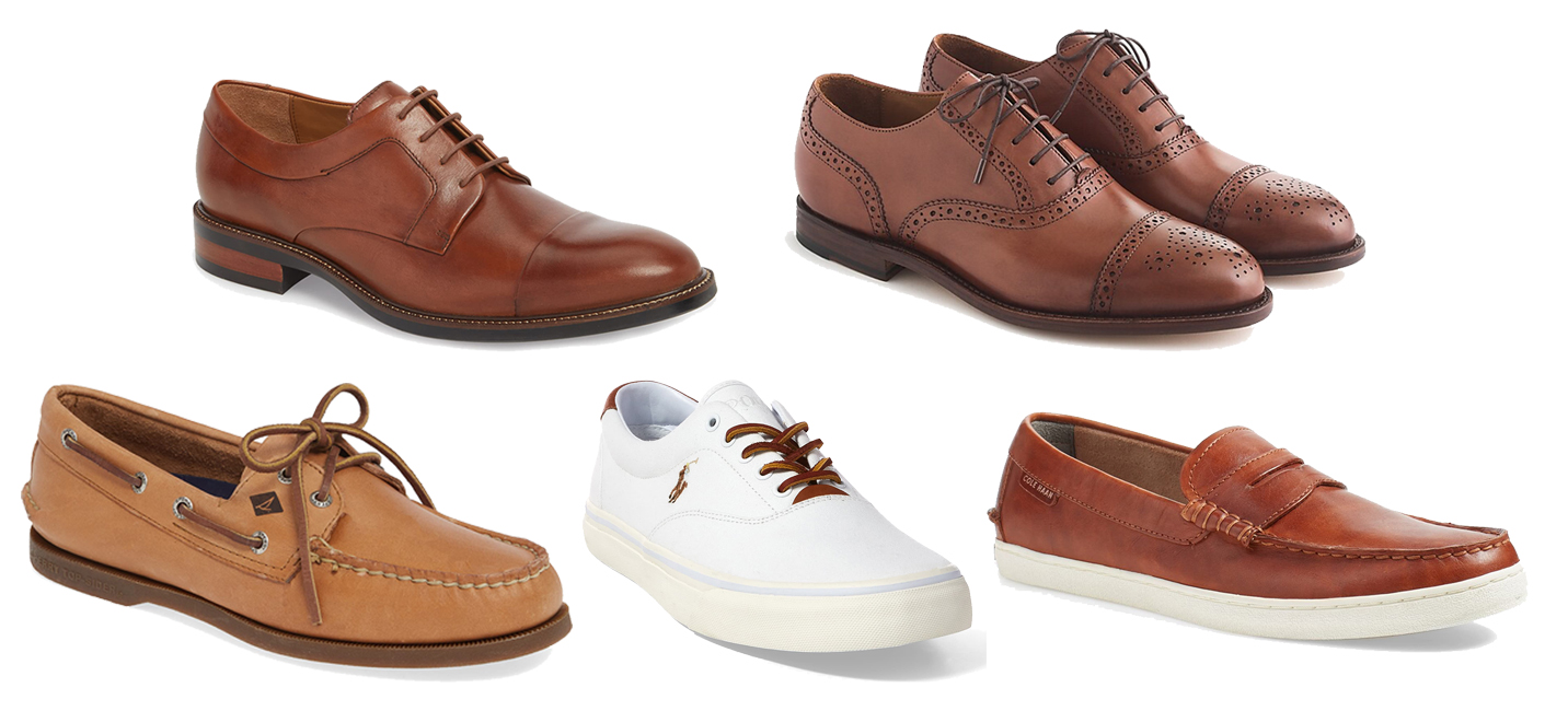 Shoes: Cap Toe Derby / Oxfords / Boat Shoes / Sneaker / Loafer
