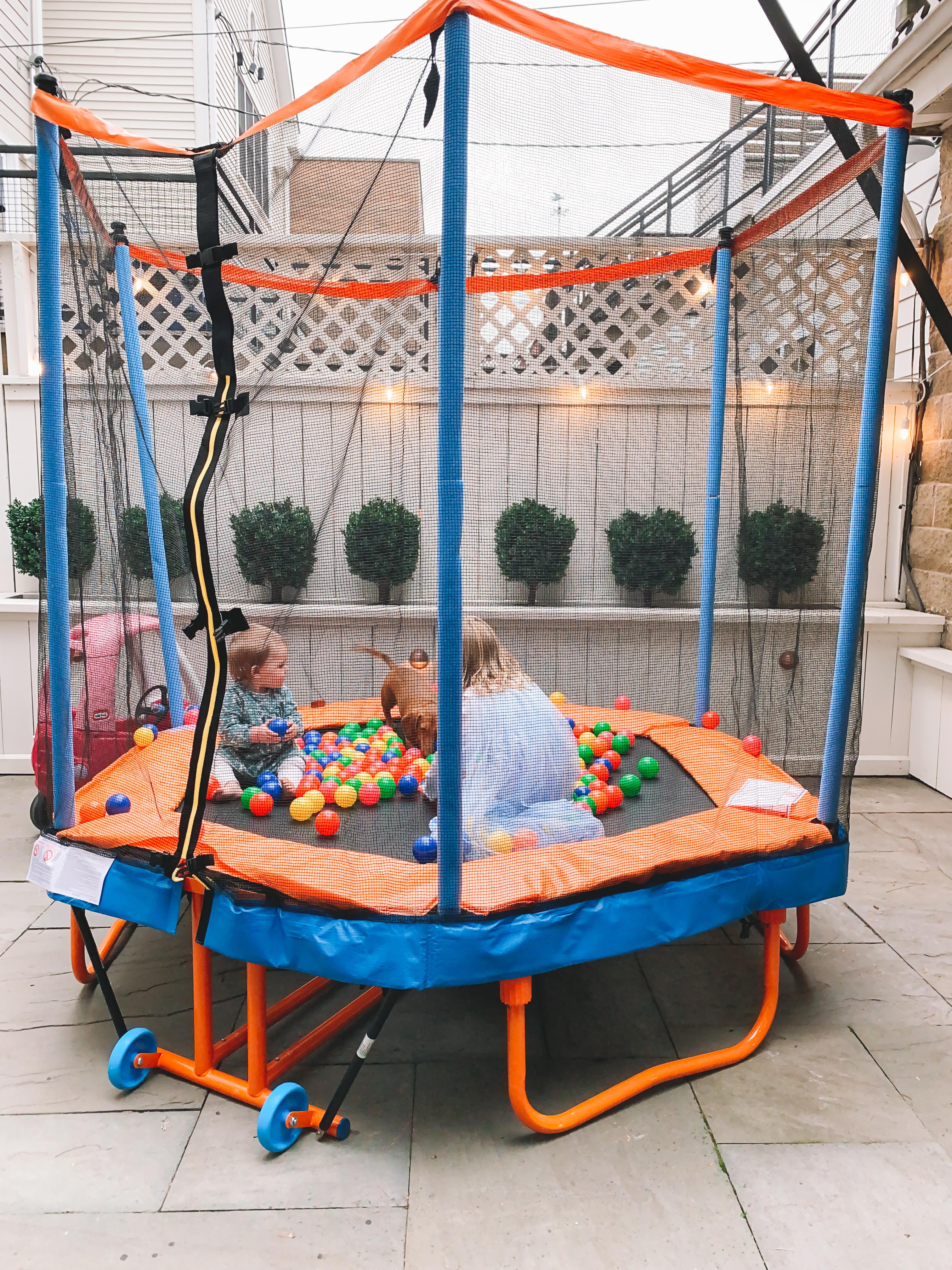 Kids On A Folding Trampoline - Kelly in the City