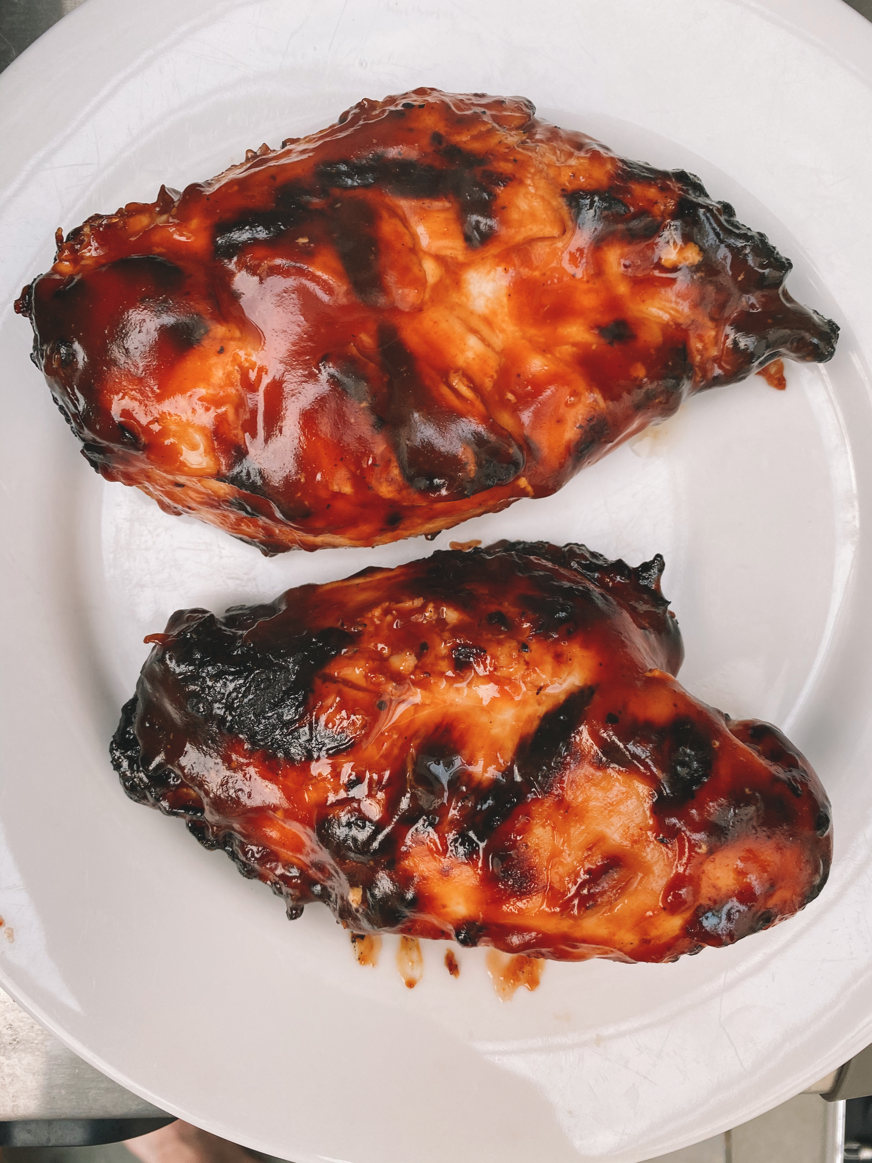 Perfect BBQ Grilled Chicken recipe