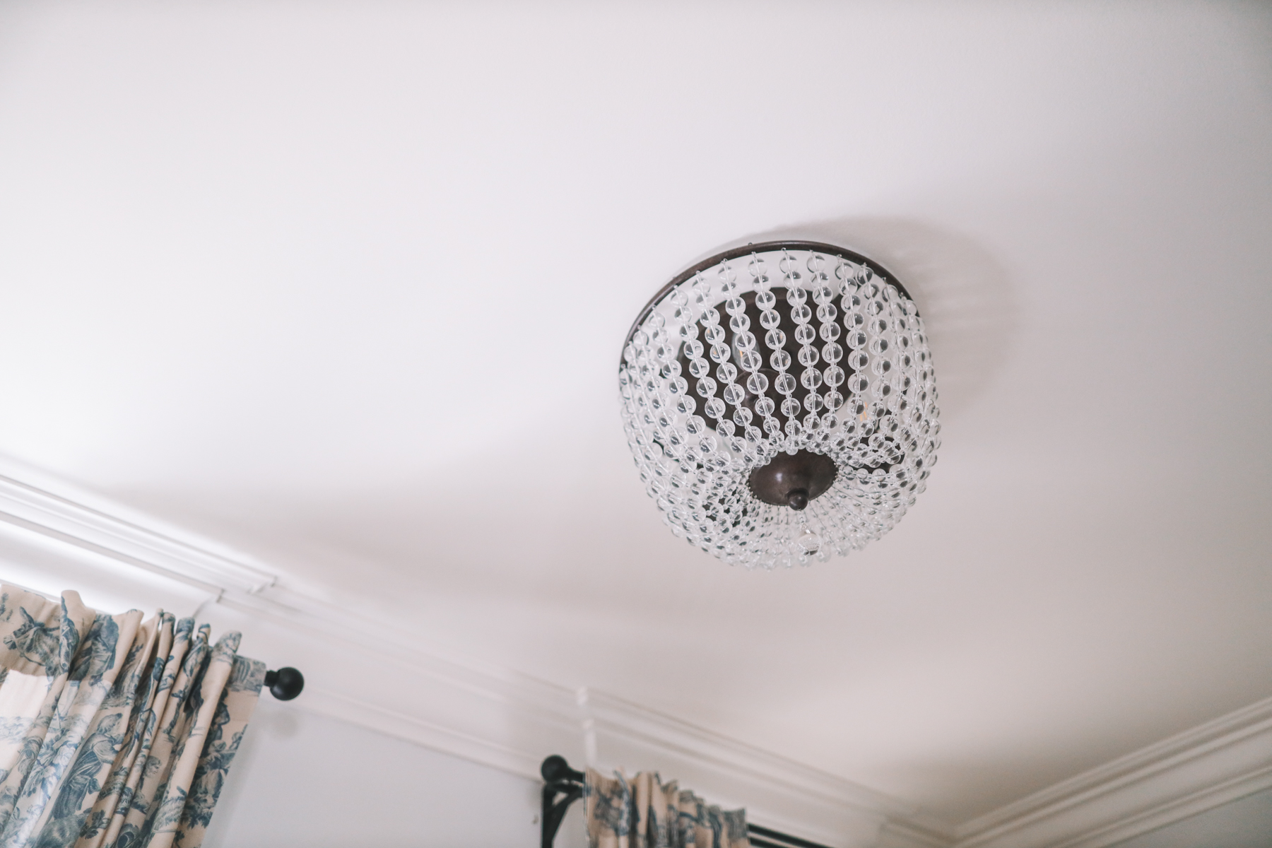 Ceiling mount chandelier