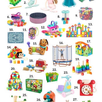 Gifts for One-Year-Olds