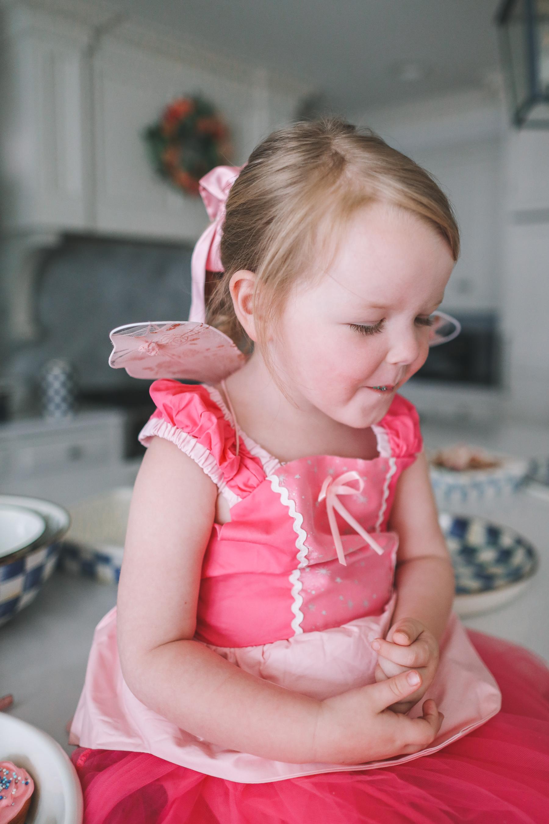 amazon kids pink dress