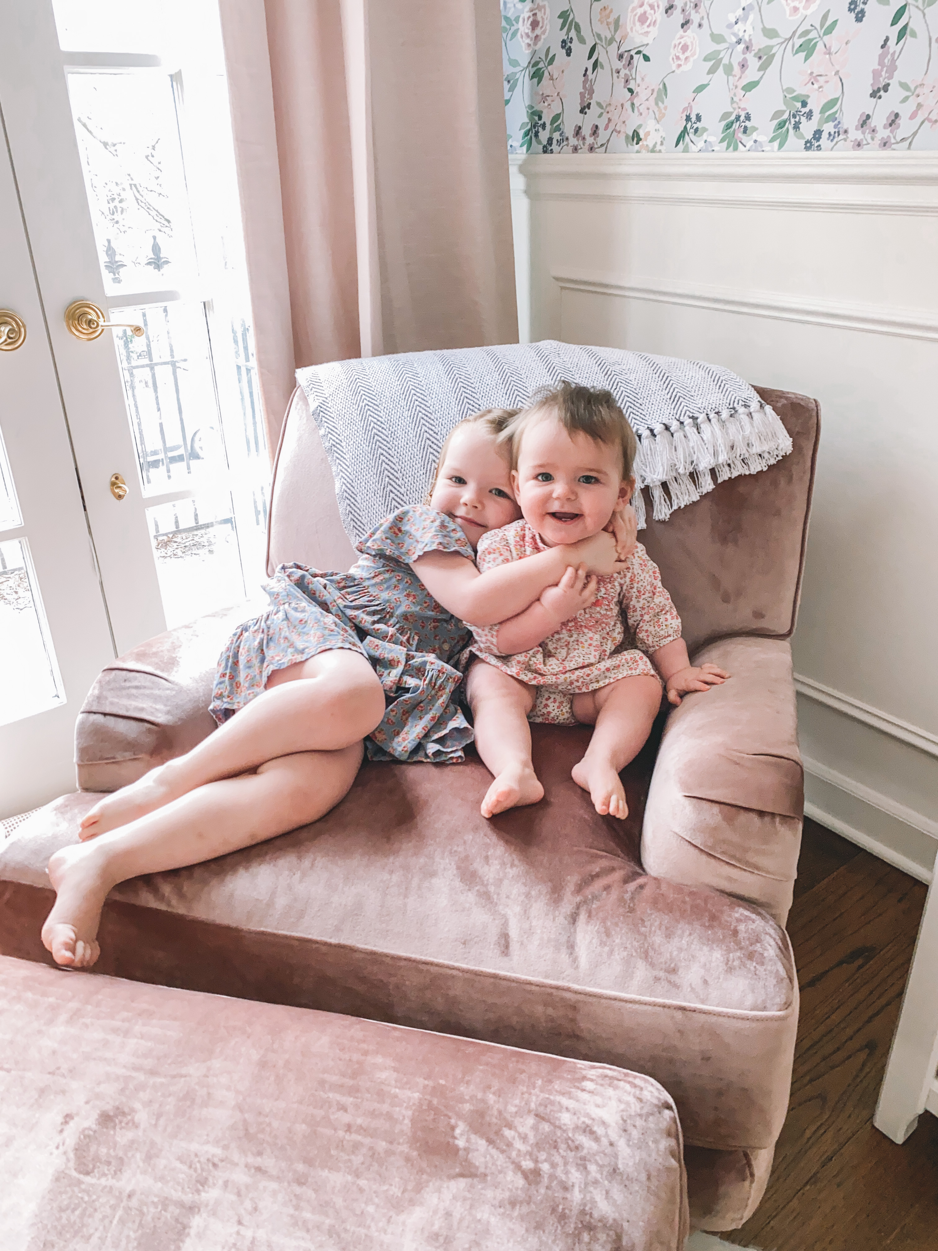 The EveryGirl Rose Chair Sale