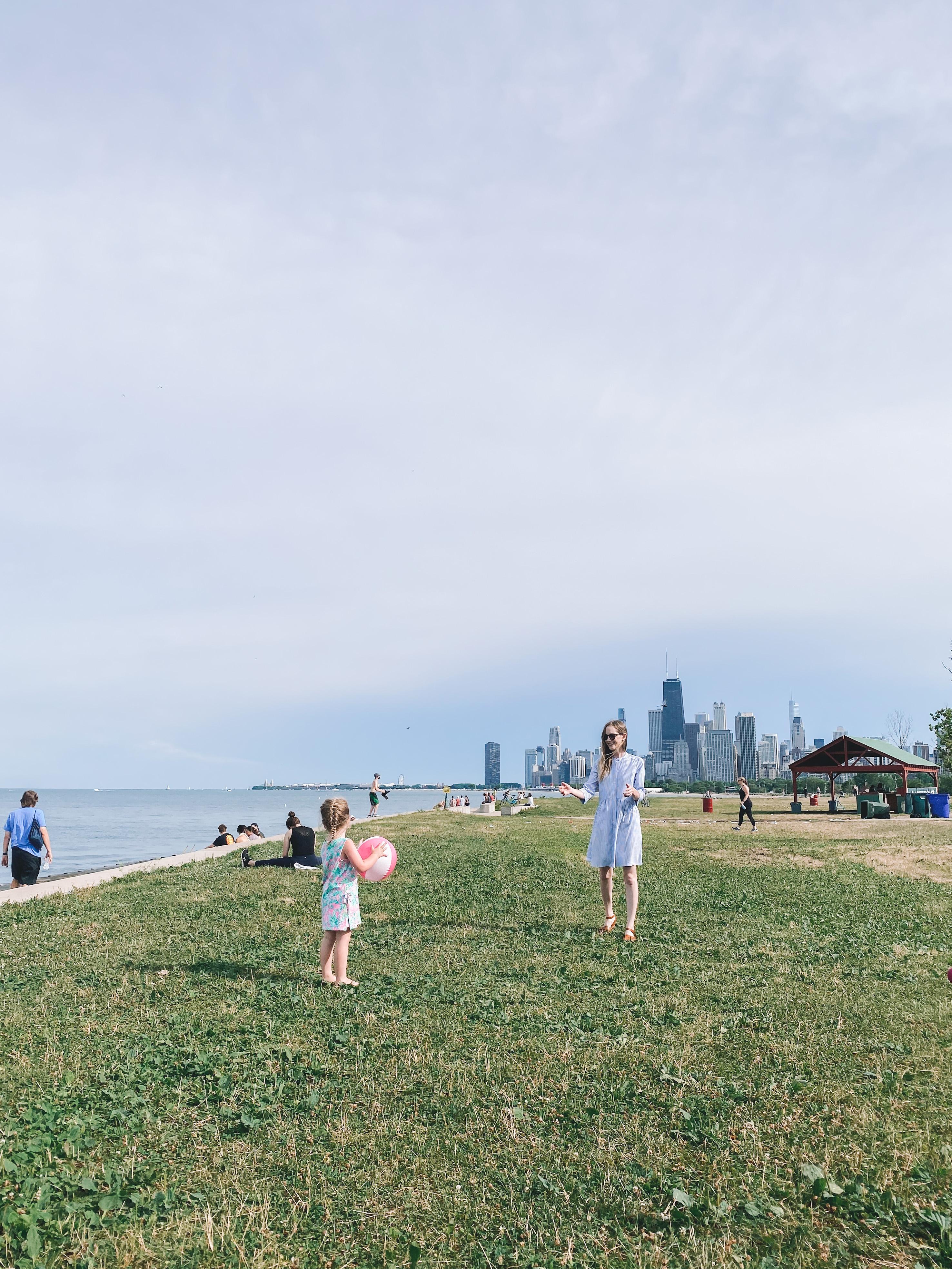 Sunday on Lake Michigan