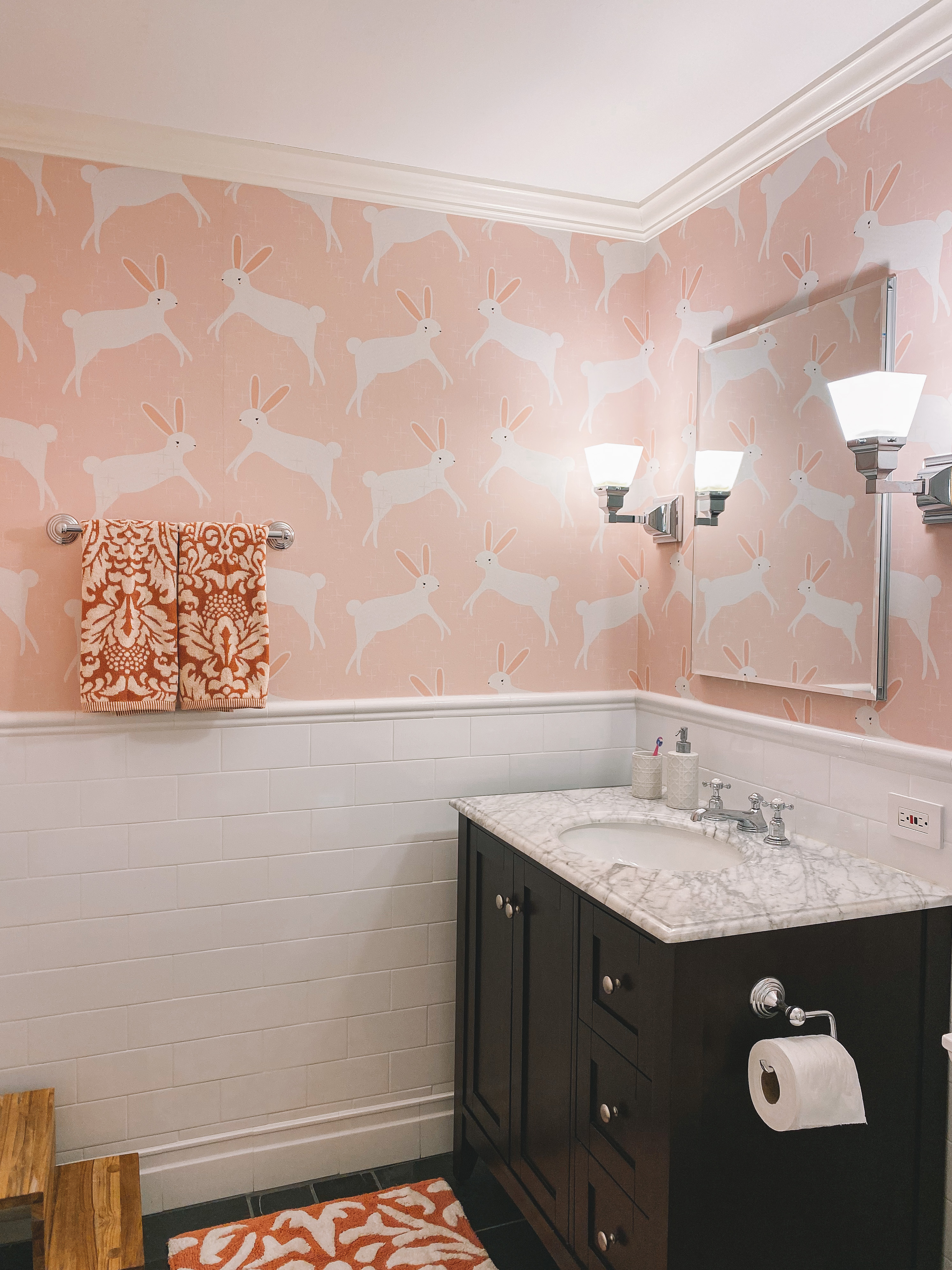 Pink Bunny Wallpaper