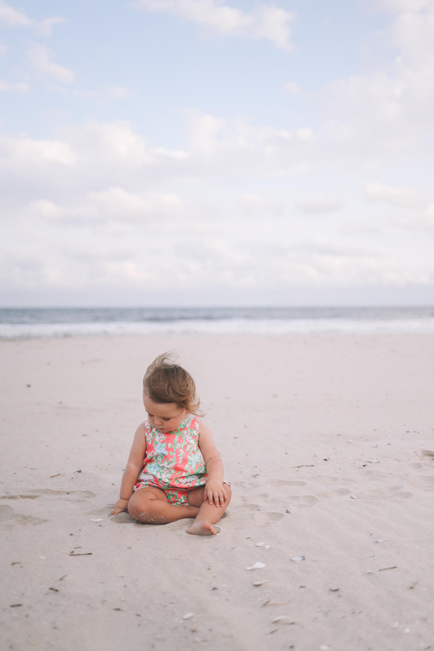 fall beach day, A White Lace Dress
