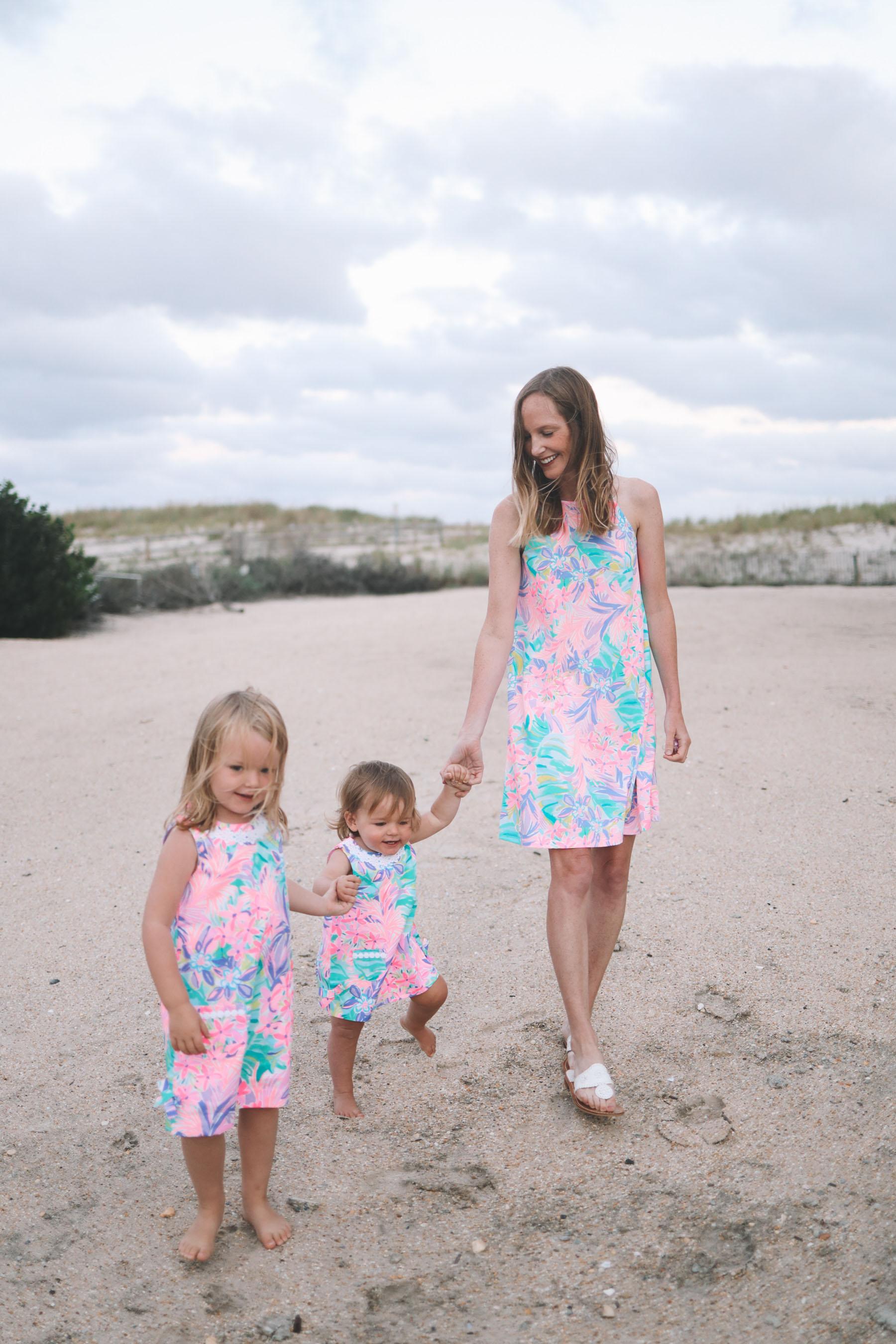 Margot Swing Dress / Girls' Classic Little Lilly Shift Dress/ Baby Shift Dress