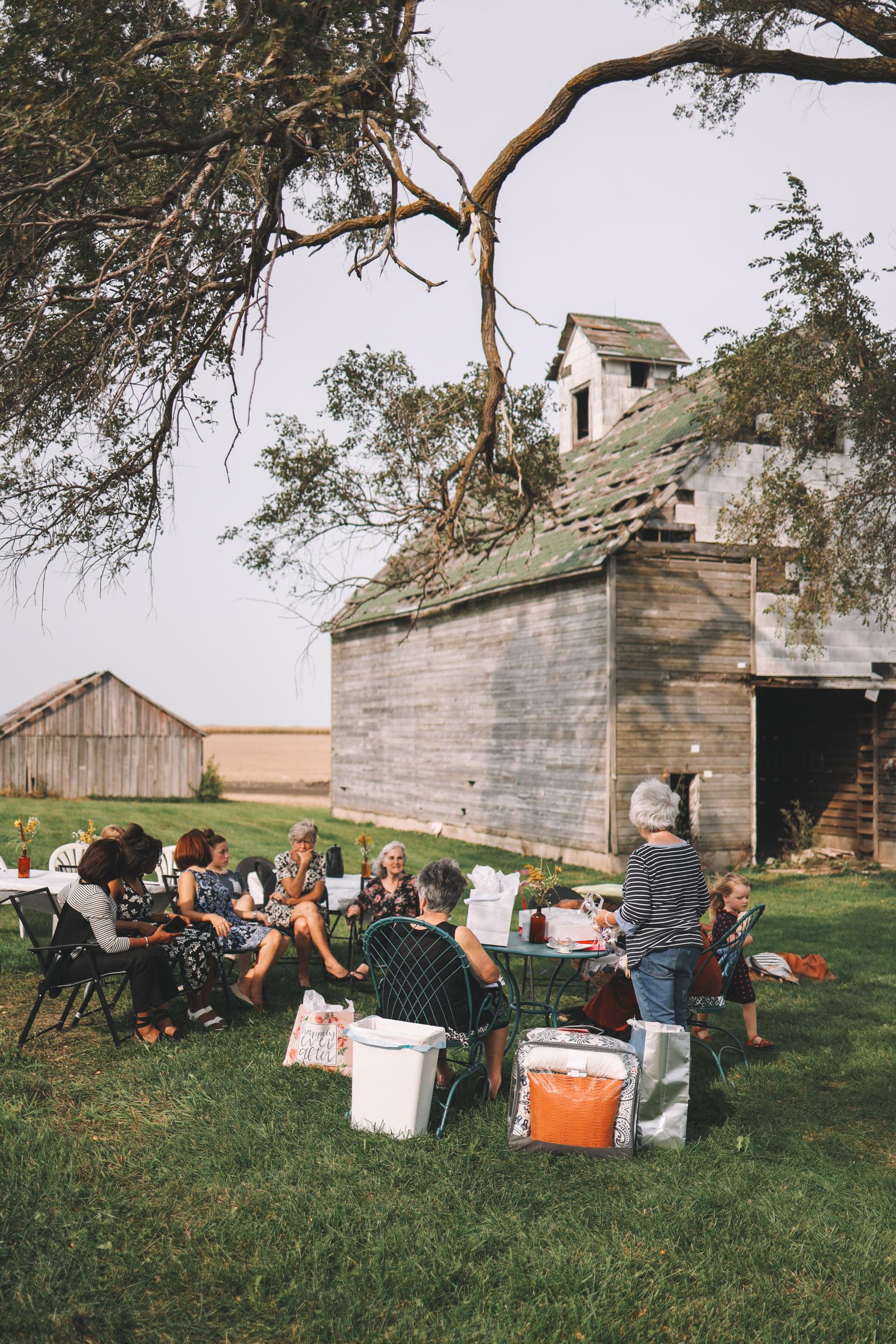 A Farmhouse Bridal Shower