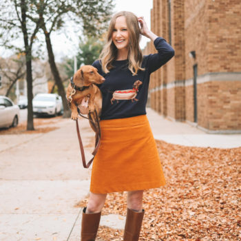 Dachshund Sweater Giveaway