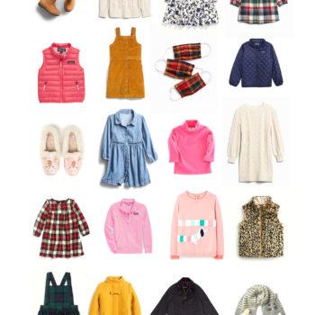 Preppy Little Girls' Fall Wardrobe