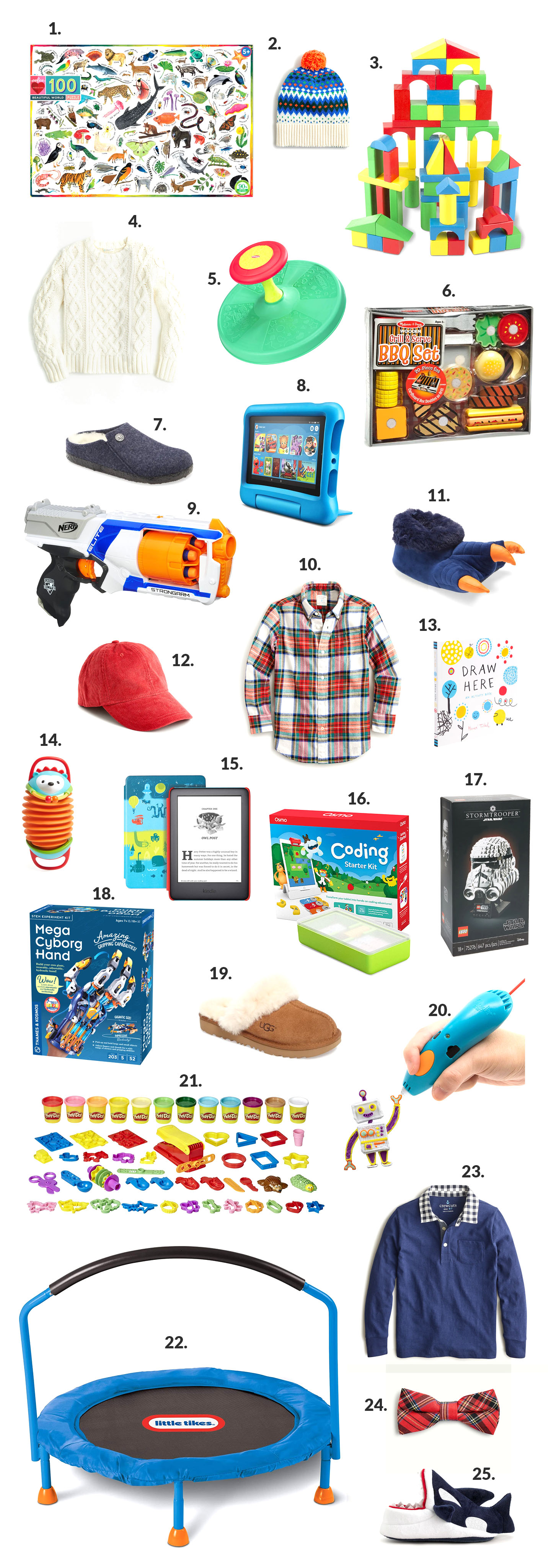 (Almost) 75 Gifts for Boys