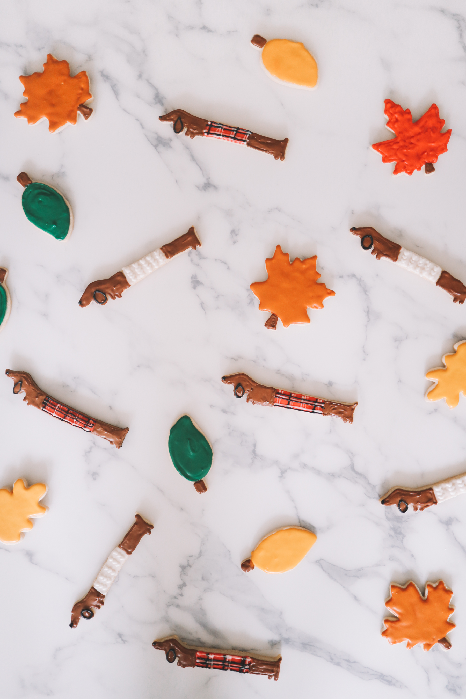 Dachshund + Leaf Cookie Giveaway