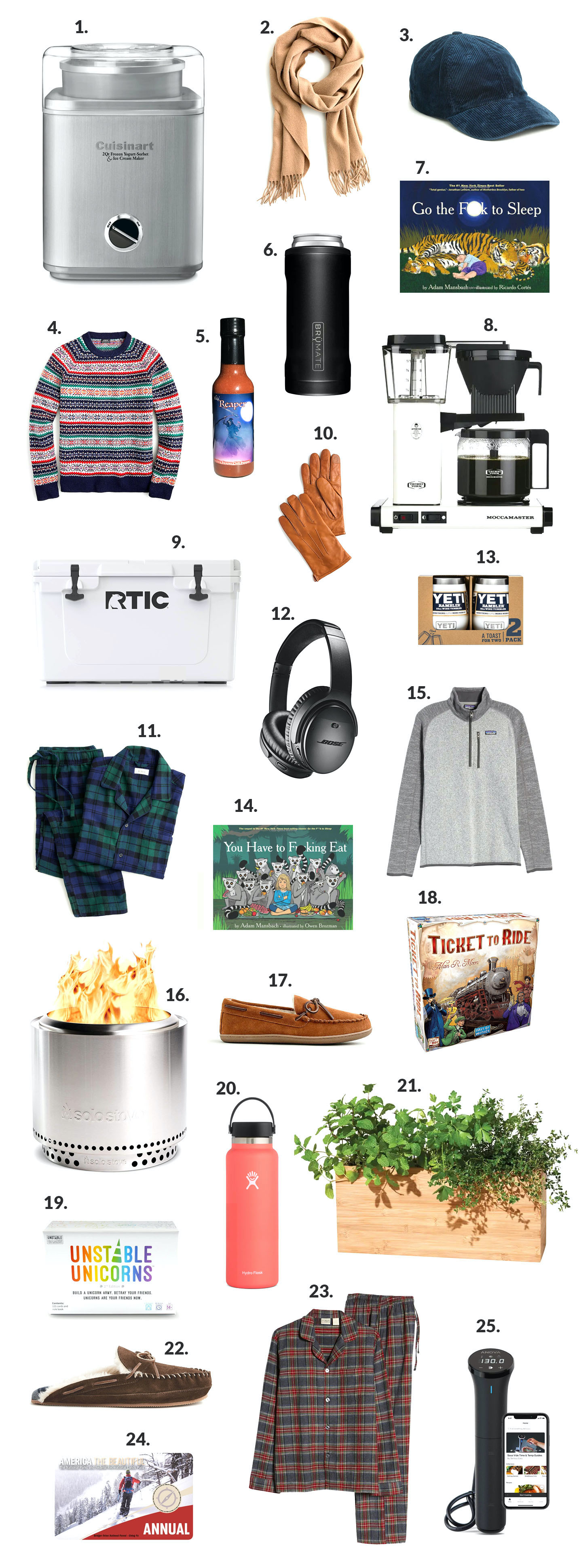 Gift Guide: Dads and Grandpas