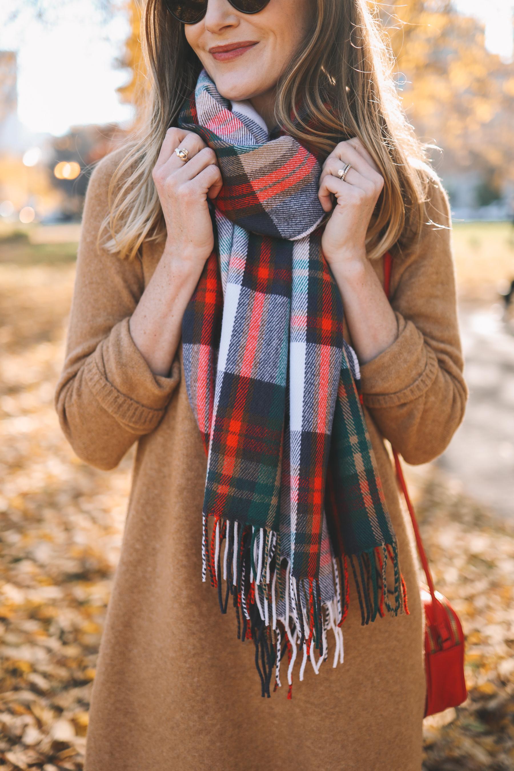 Camel Sweater Dress J.Crew