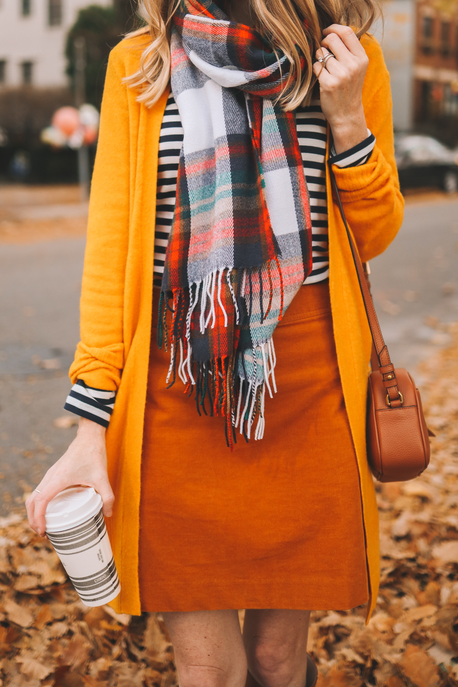 The Perfect Plaid Scarf