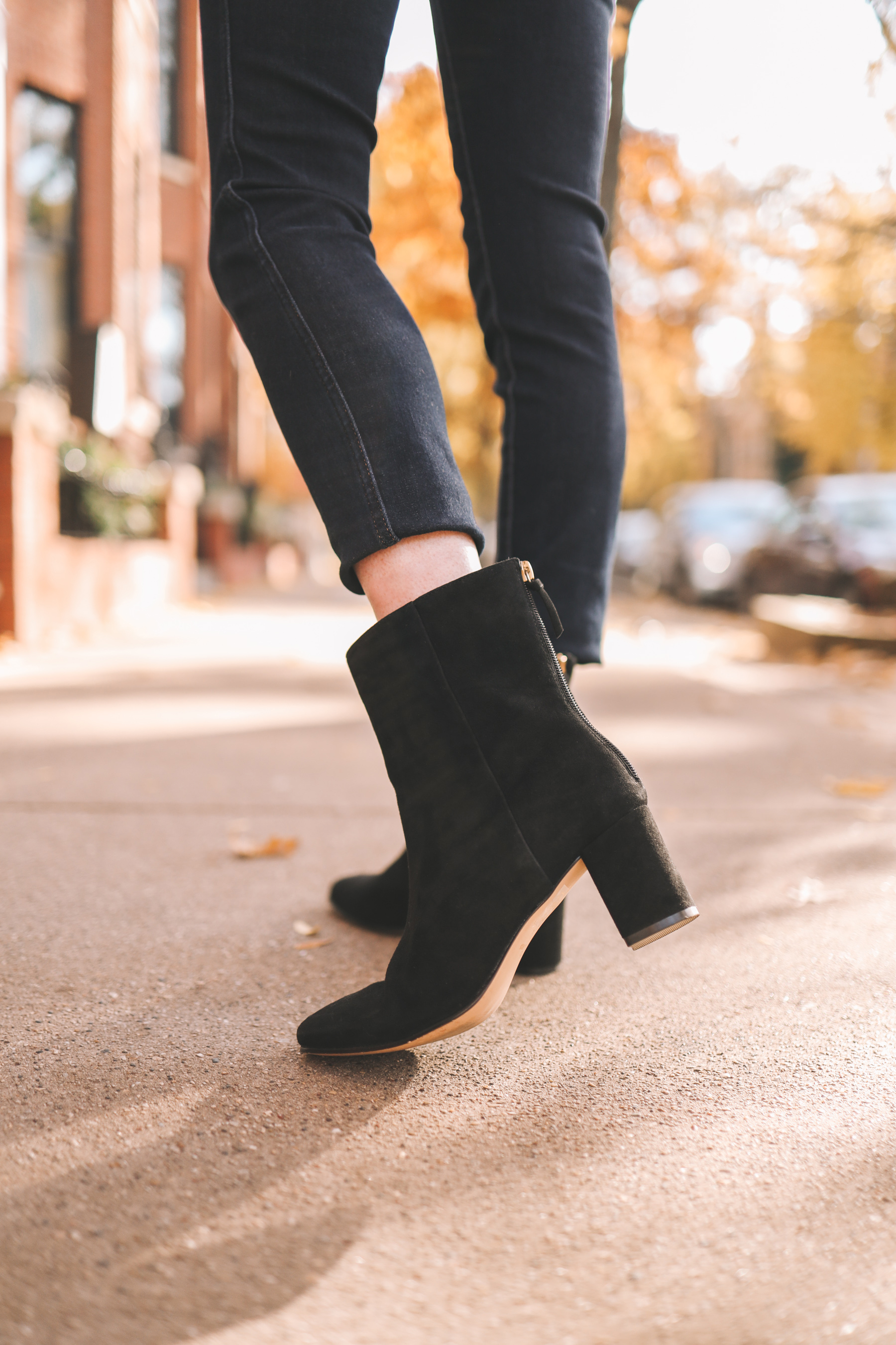 Suede Willa Boots