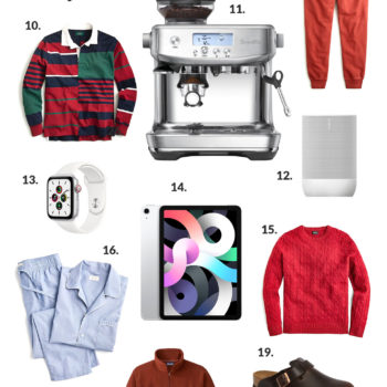 Preppy Men's Holiday Gift Guide
