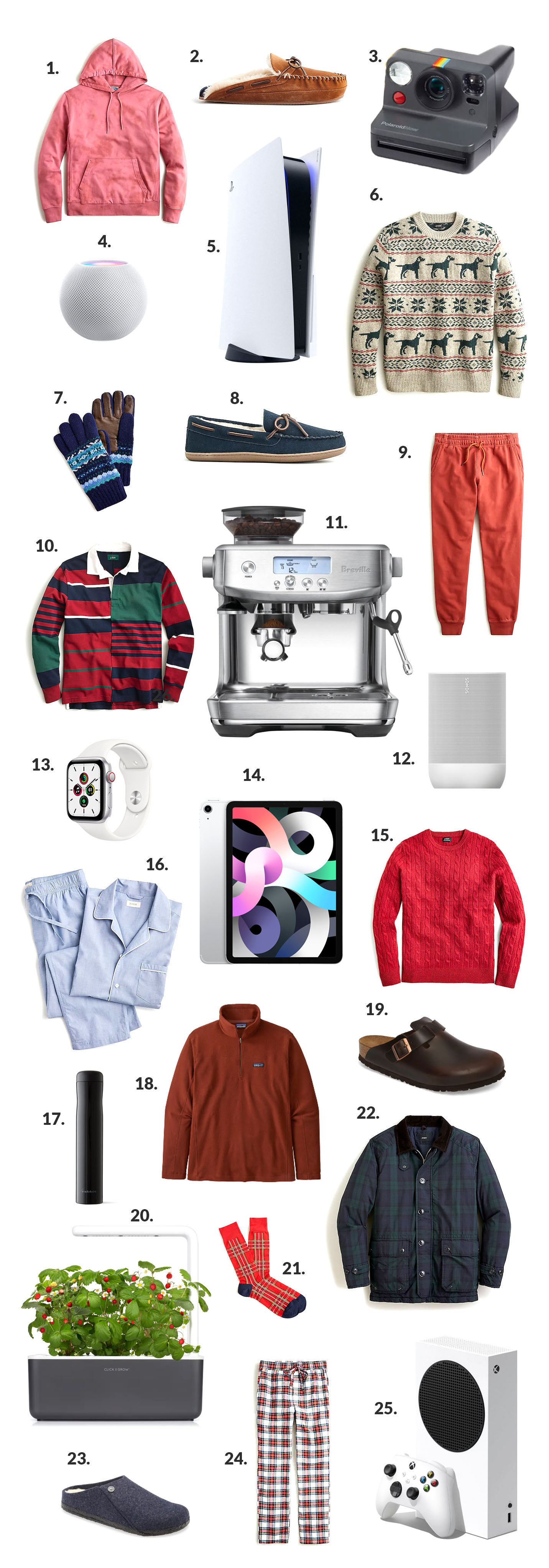 Preppy Mens Holiday Gift Guide