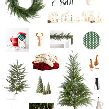 Crate & Barrel Christmas Decor